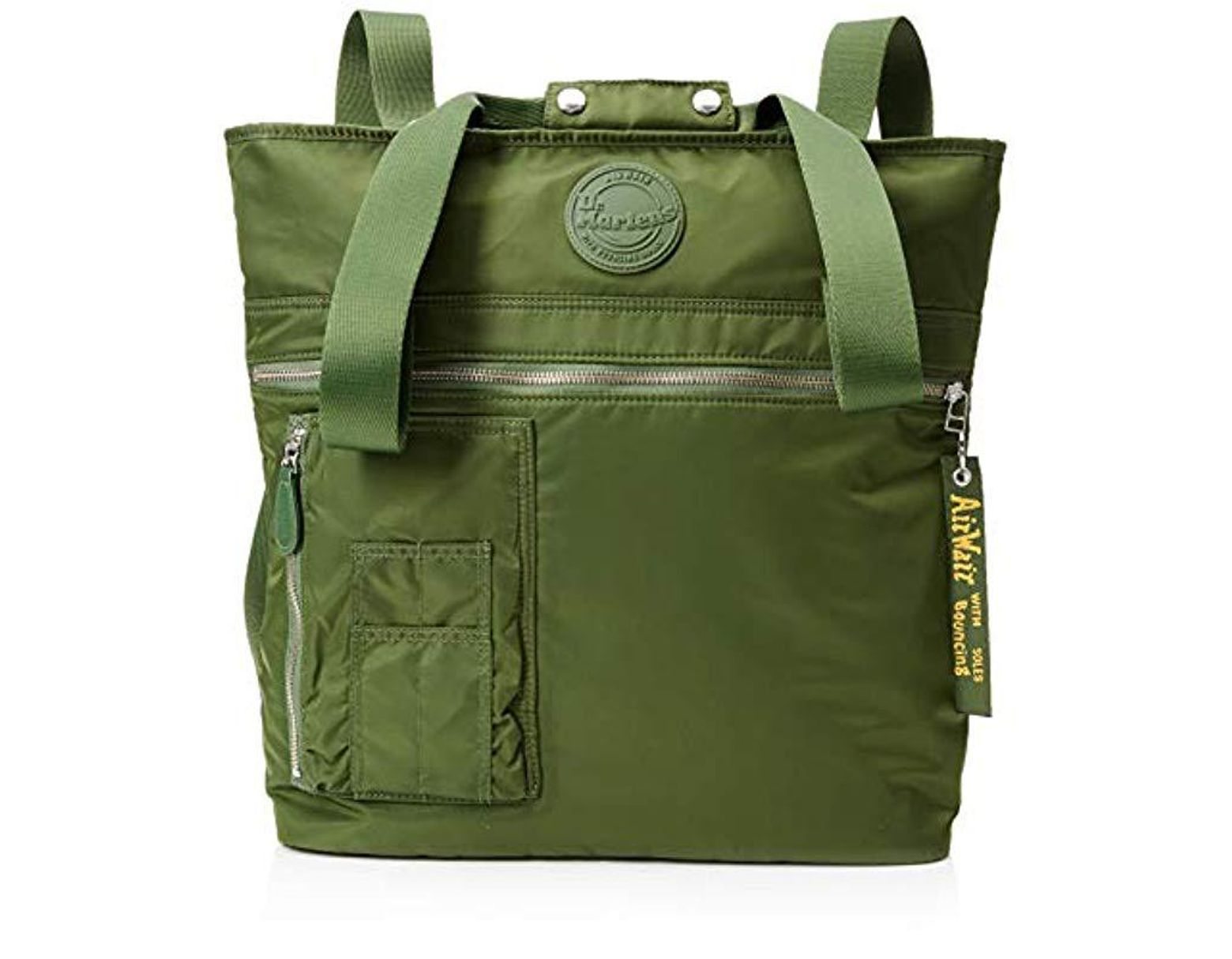 74ce6fbc25948 Dr. Martens Unisex Flight Tote Canvas And Beach Tote Bag in Green ...