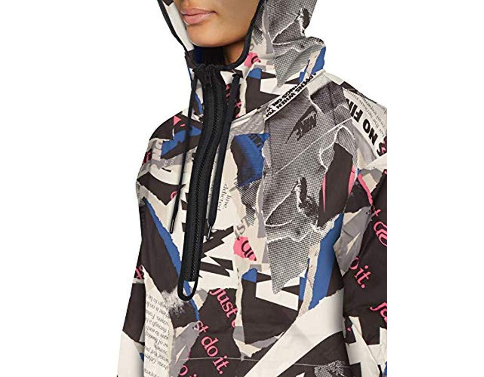 02121045fd7ad Women's 's W Nsw Jkt Newsprint Sports Jacket