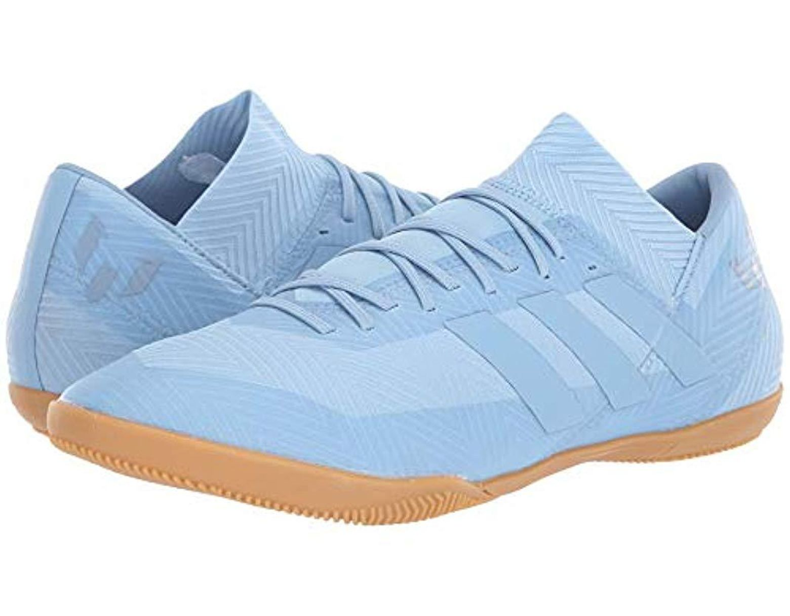 f8e17aae4c3d8 Men's Blue Nemeziz Messi Tango 18.3 Indoor Soccer Shoe