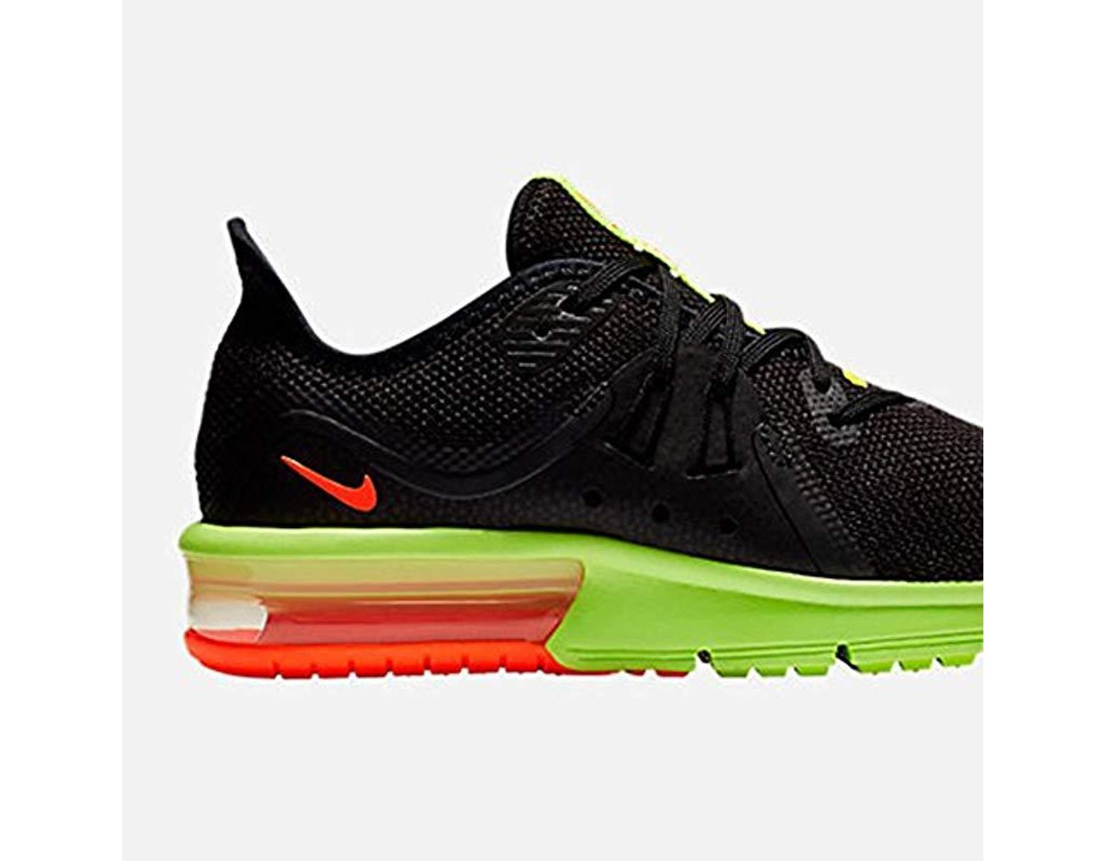 865c7a4721fd6 Men's Black Air Max Sequent 3 (gs) Running Shoes