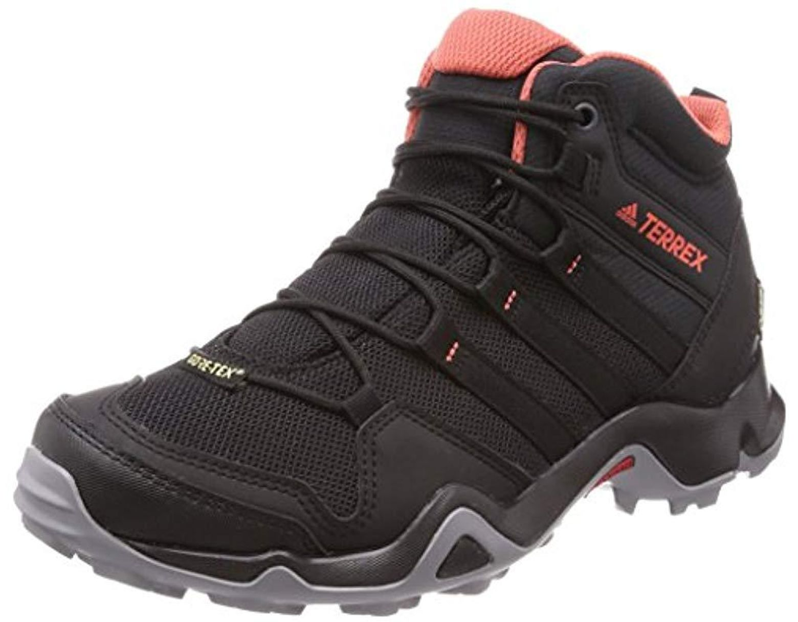 adidas Terrex Ax2r Mid Gtx Low Rise Hiking Shoes in Black - Lyst