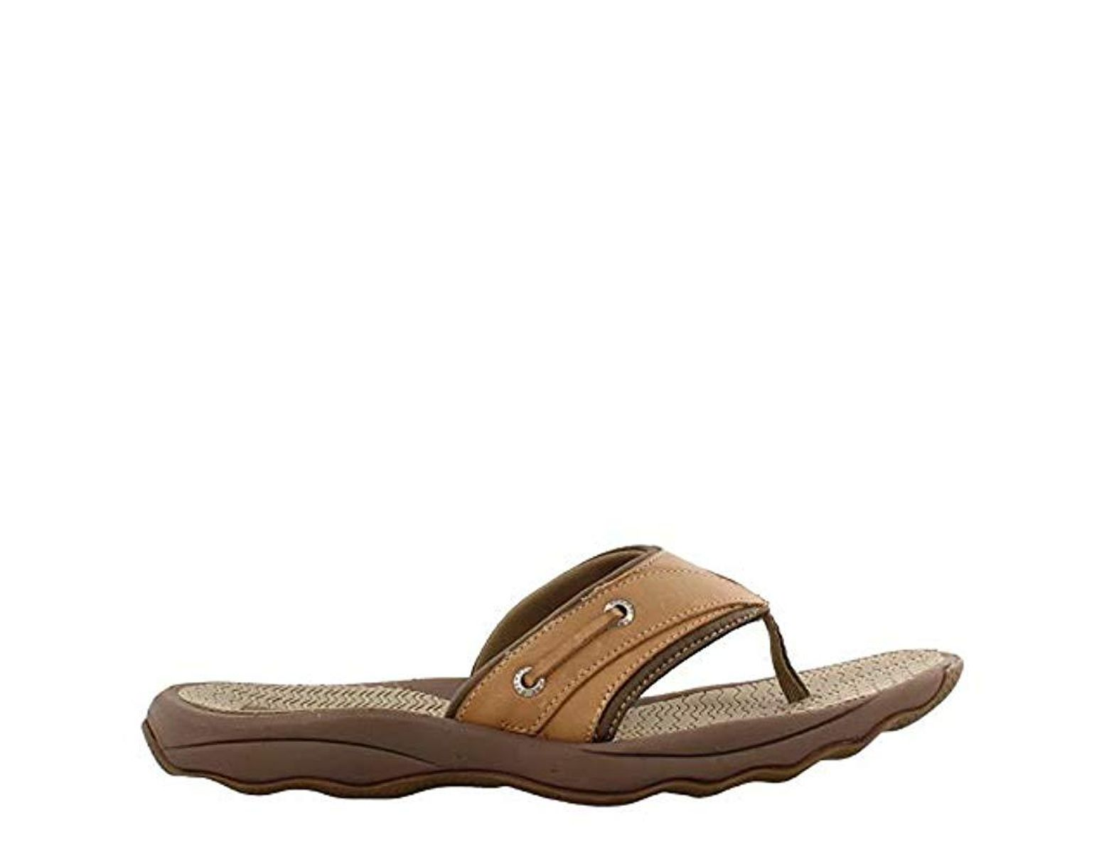 4b78de52733fb2 Sperry Top-Sider Top-sider Outer Banks Thong Sandal in Brown for Men - Lyst