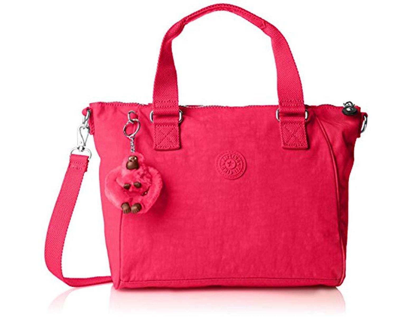 Amiel, Sac Porté épaule femme de coloris rose