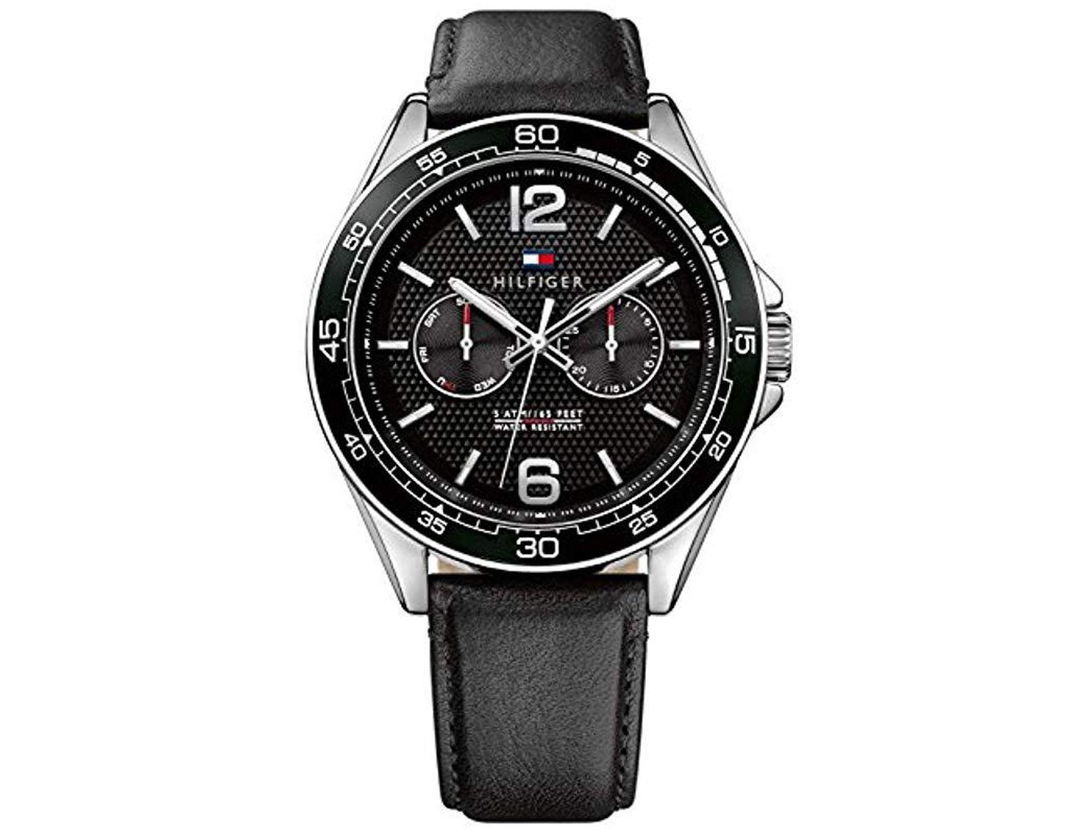 Reloj Hombre De Correa 1791369 Cuero En Multiesfera Para Cuarzo Con dCrtshQ