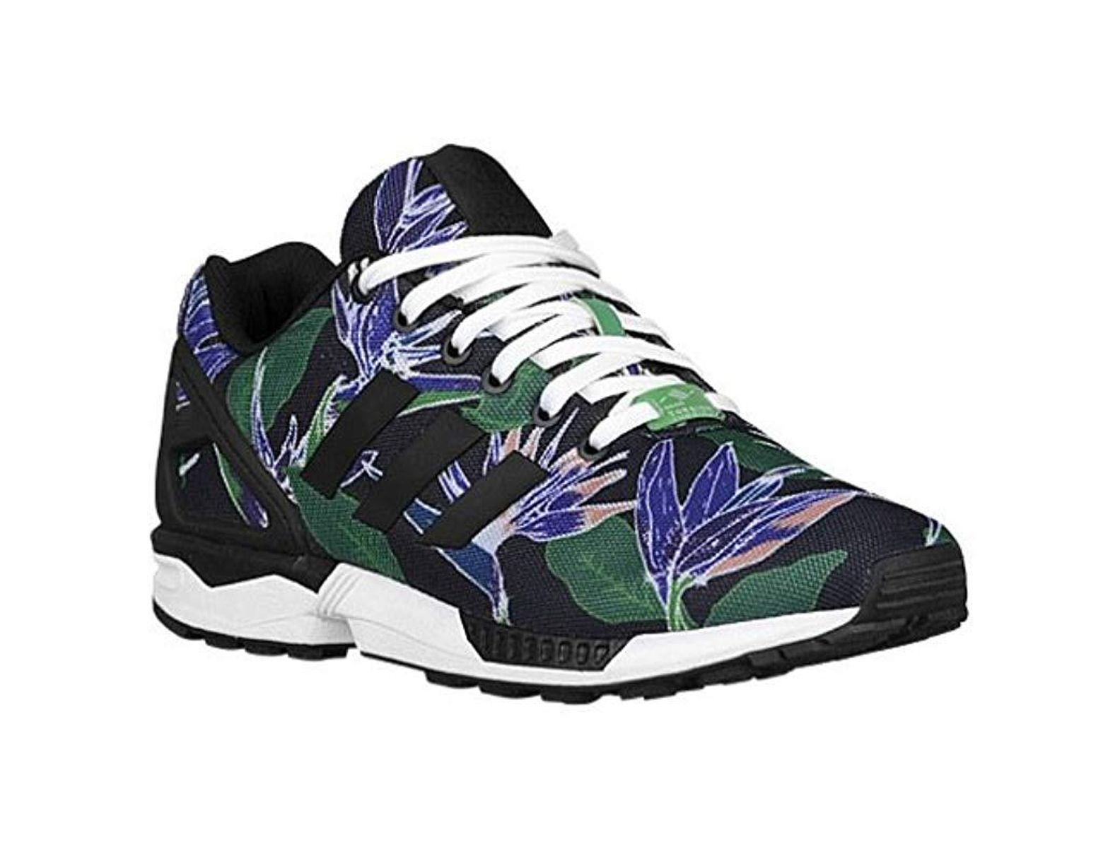 size 40 3f787 d7120 adidas Zx Flux Floral Uomo Codice:b34518 in Blue for Men - Lyst
