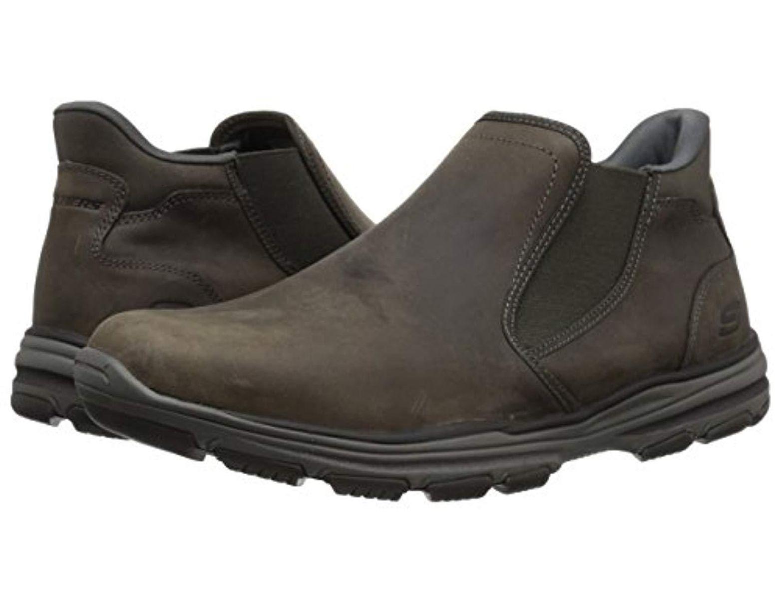 42c5e594f94b5 Skechers Garton-keven Boots in Gray for Men - Lyst
