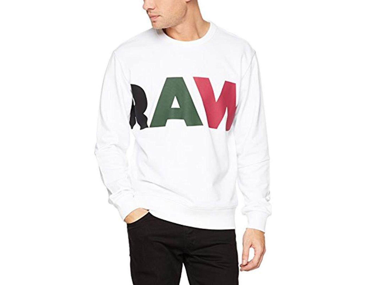 G-STAR RAW Herren Sweatshirt Alchesai Slim Tracktop Sweater