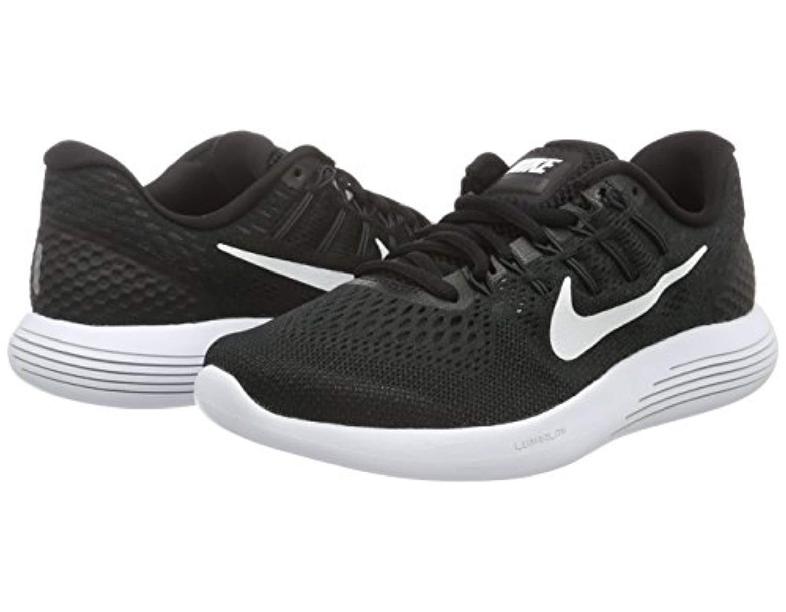 sneakers for cheap 74298 116f2 Men's Black Lunarglide 8 Running Shoes