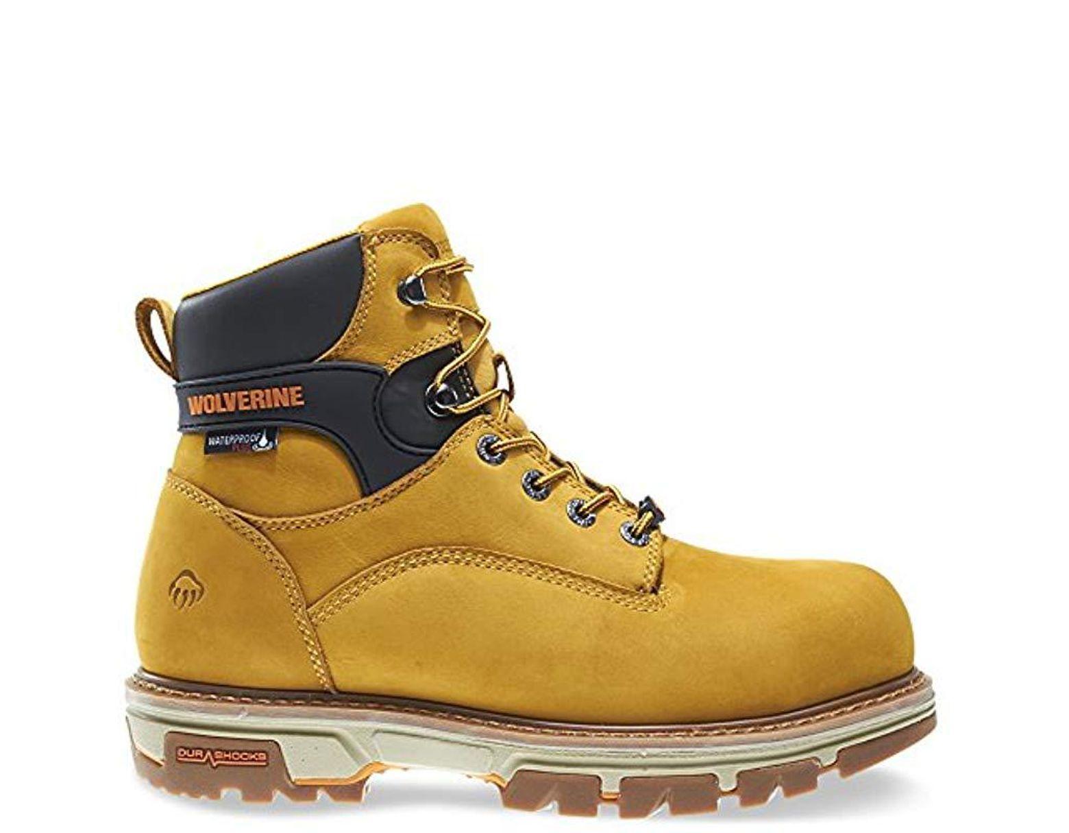 601ce045c54 Men's Nation 6 Inch Insulated Waterproof Comp Toe Work Shoe