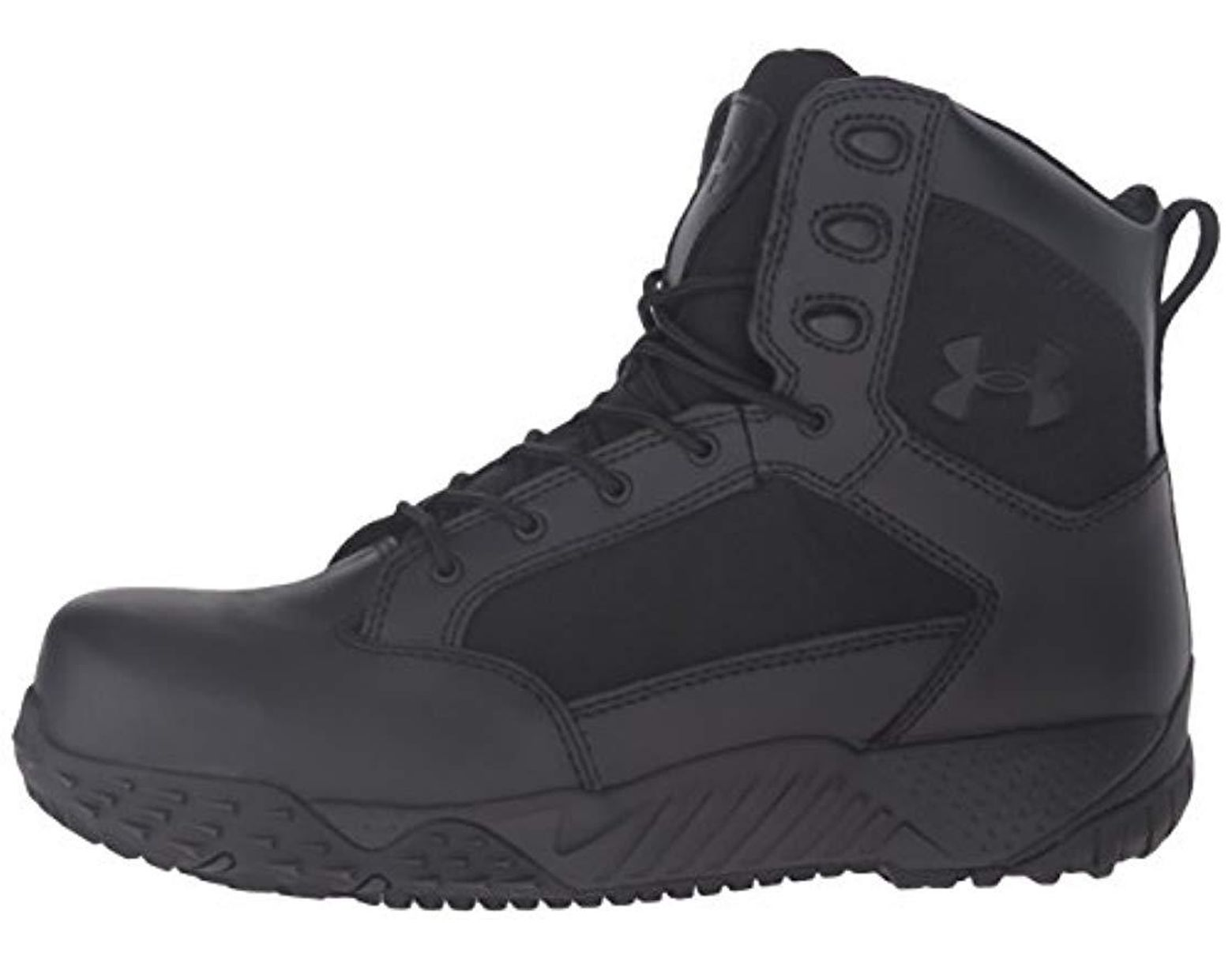 36adf1cfbd Men's Black Stellar Tactical Protection Boating Shoes