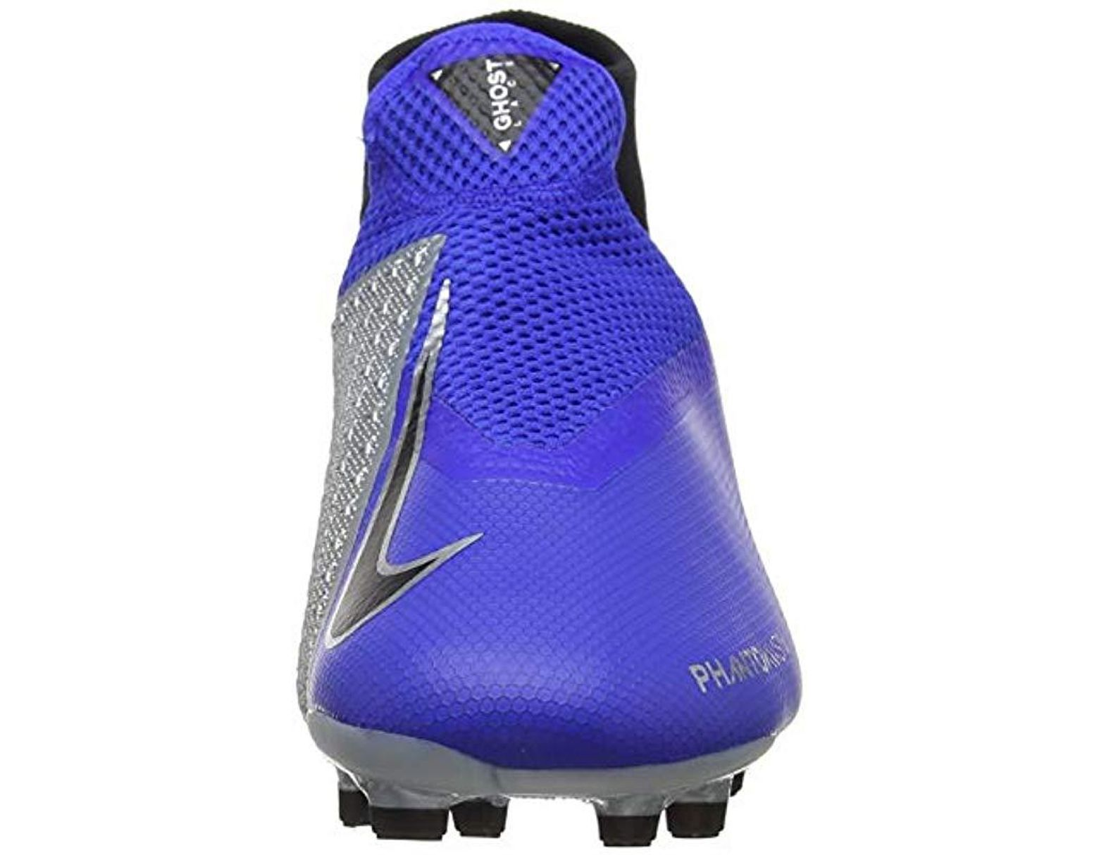 8fb7f66448e24 Blue Unisex Adults' Phantom Vision Academy Dynamic Fit Mg Footbal Shoes