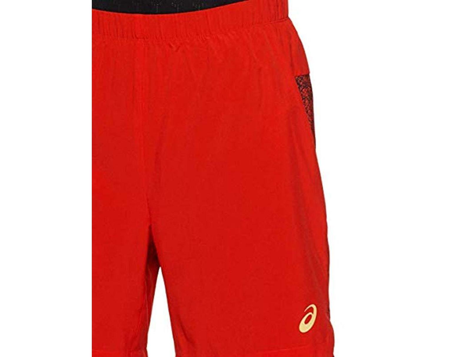 8361dbe816 Men's Red 2 In 1 7inch Running Shorts