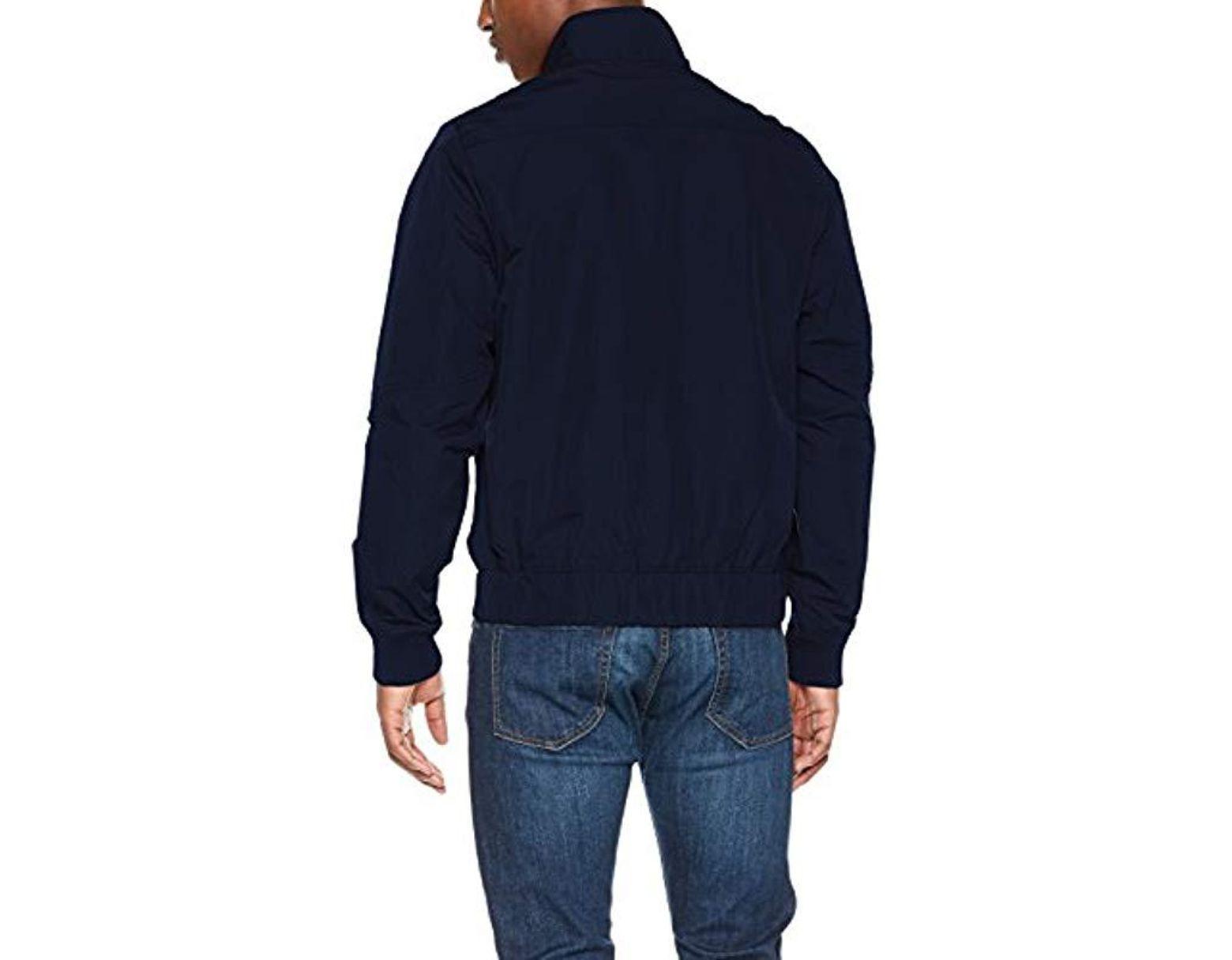 e6d439b09 Men's Blue Deline Track Overshirt Jacket