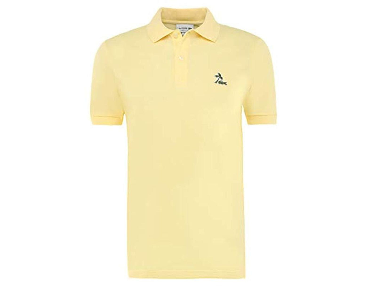 7267e025 Men's Yellow Polo Shirt