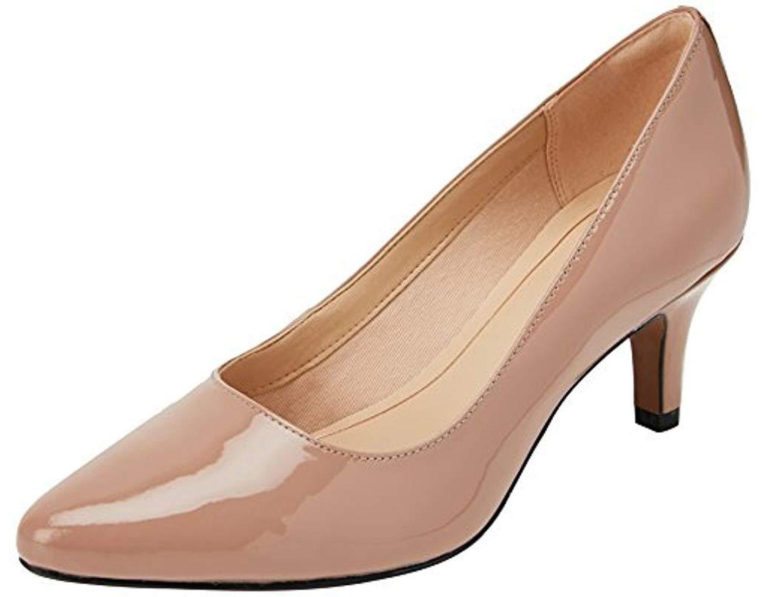 f1ceb1c7c77 Women's Natural Isidora Faye Closed Toe Heels