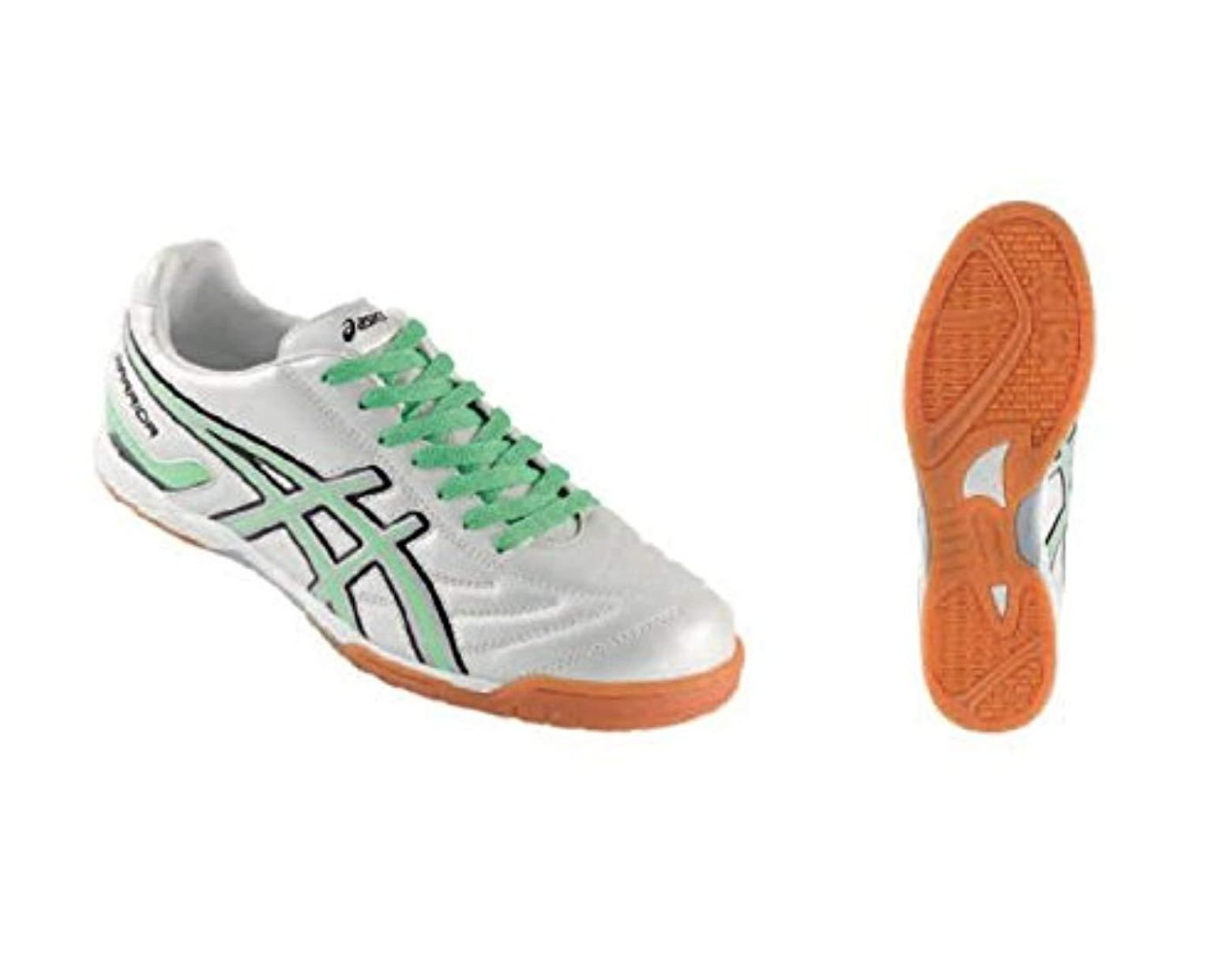 separation shoes d6f9a 8d7a2 Men's Scarpe Calcetto Uomo Tecnosoccer Warrior Indoor Bianco Verde Fluo  Fsg988