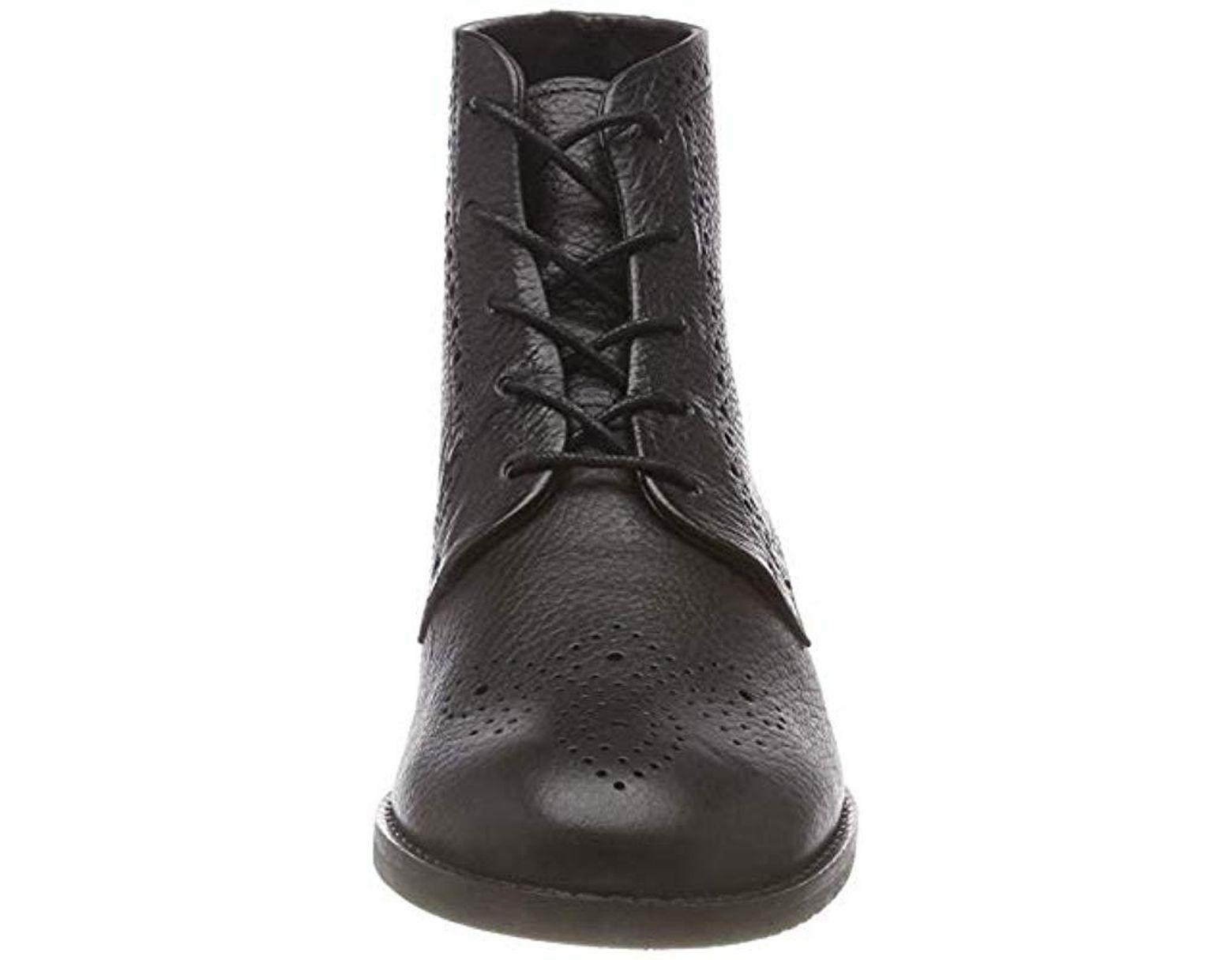 6f1dc7cd Clarks Netley Freya Ankle Boots in Black - Lyst