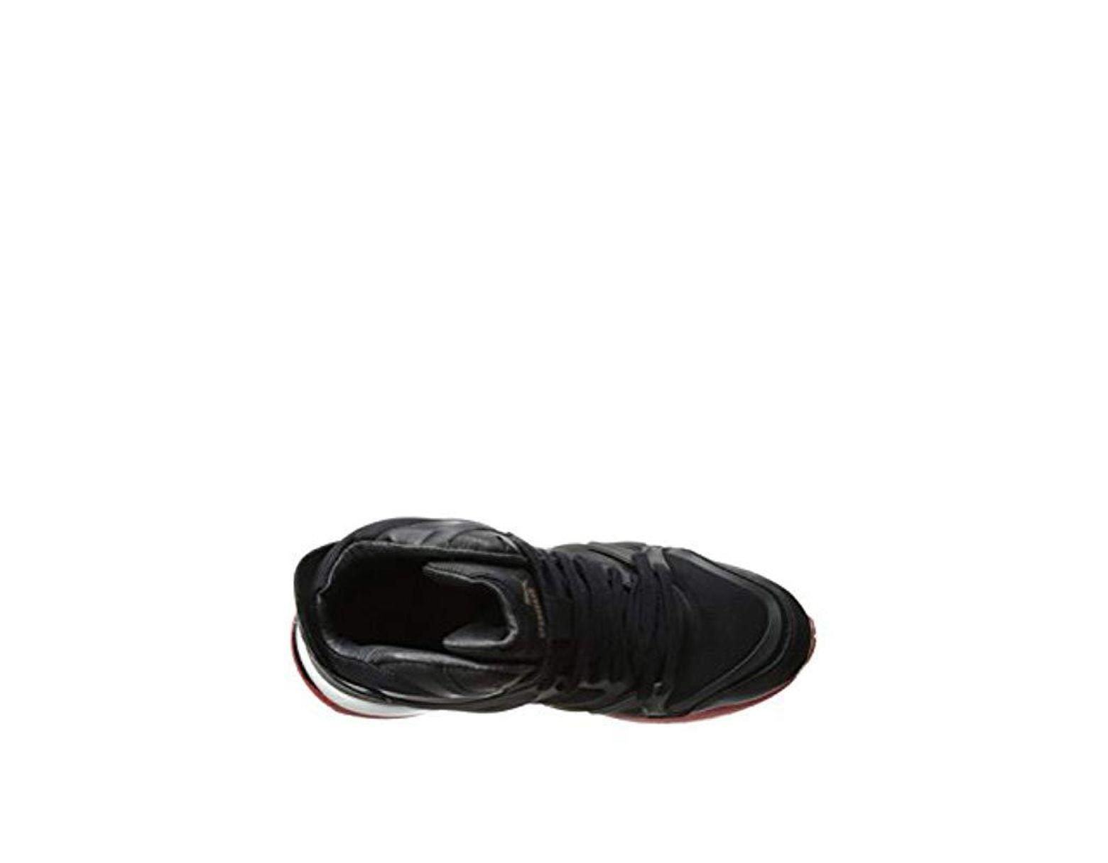 Puma Mens McQ Run Mid Alexander McQueen BlackRed Synthetic