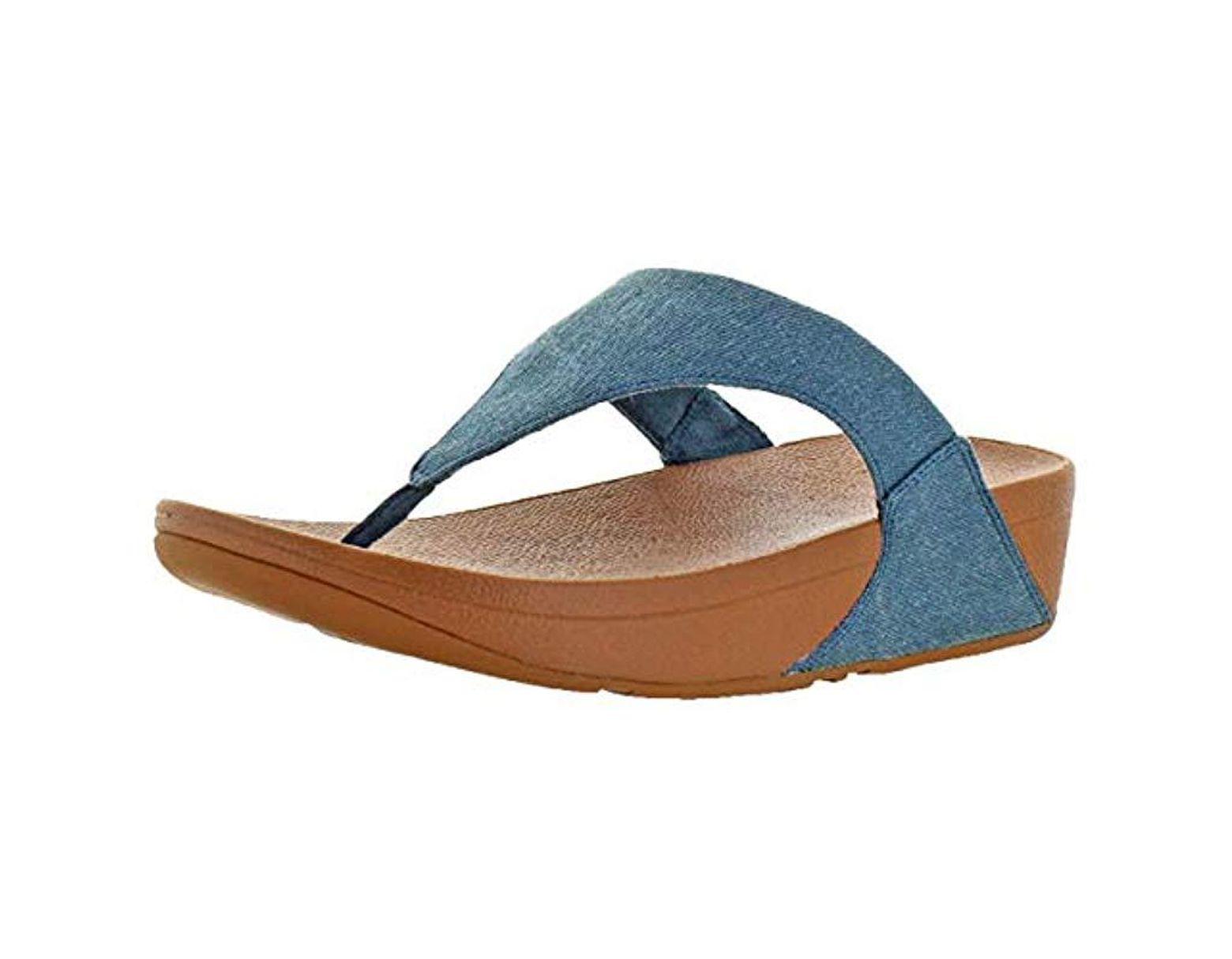 Blue Women's Thong D2wieh9 Sandals Toe Lulu qMGUpSVz