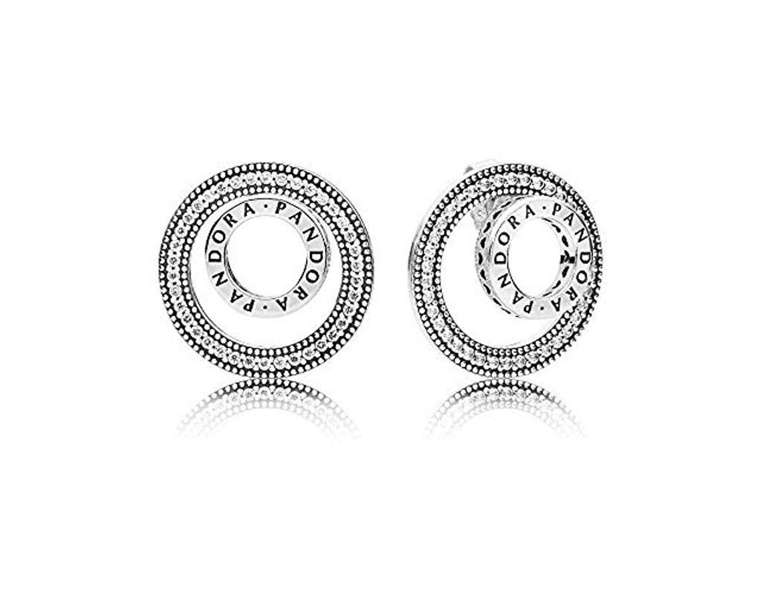 3cba294ba86f Pendientes de botón Mujer plata