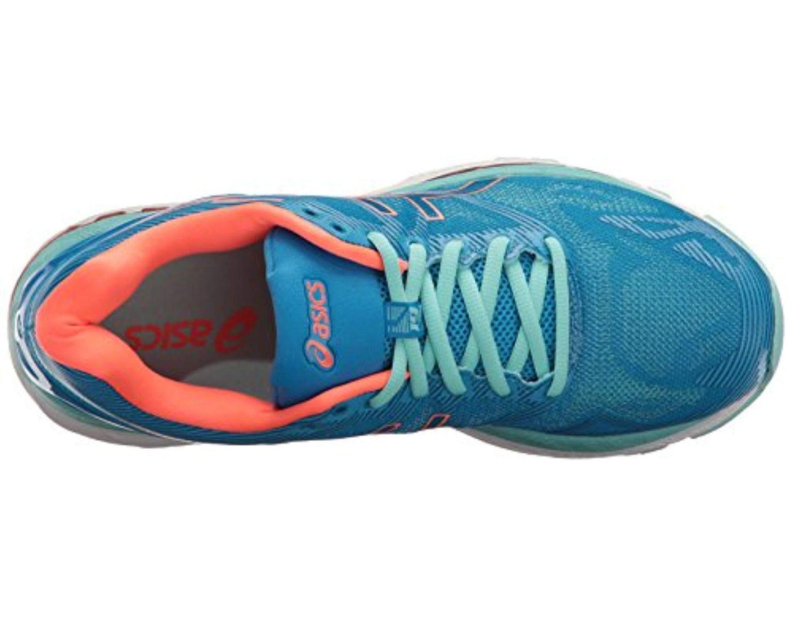pretty nice 09088 7ceea Women's Blue Gel-nimbus 19 Running Shoe