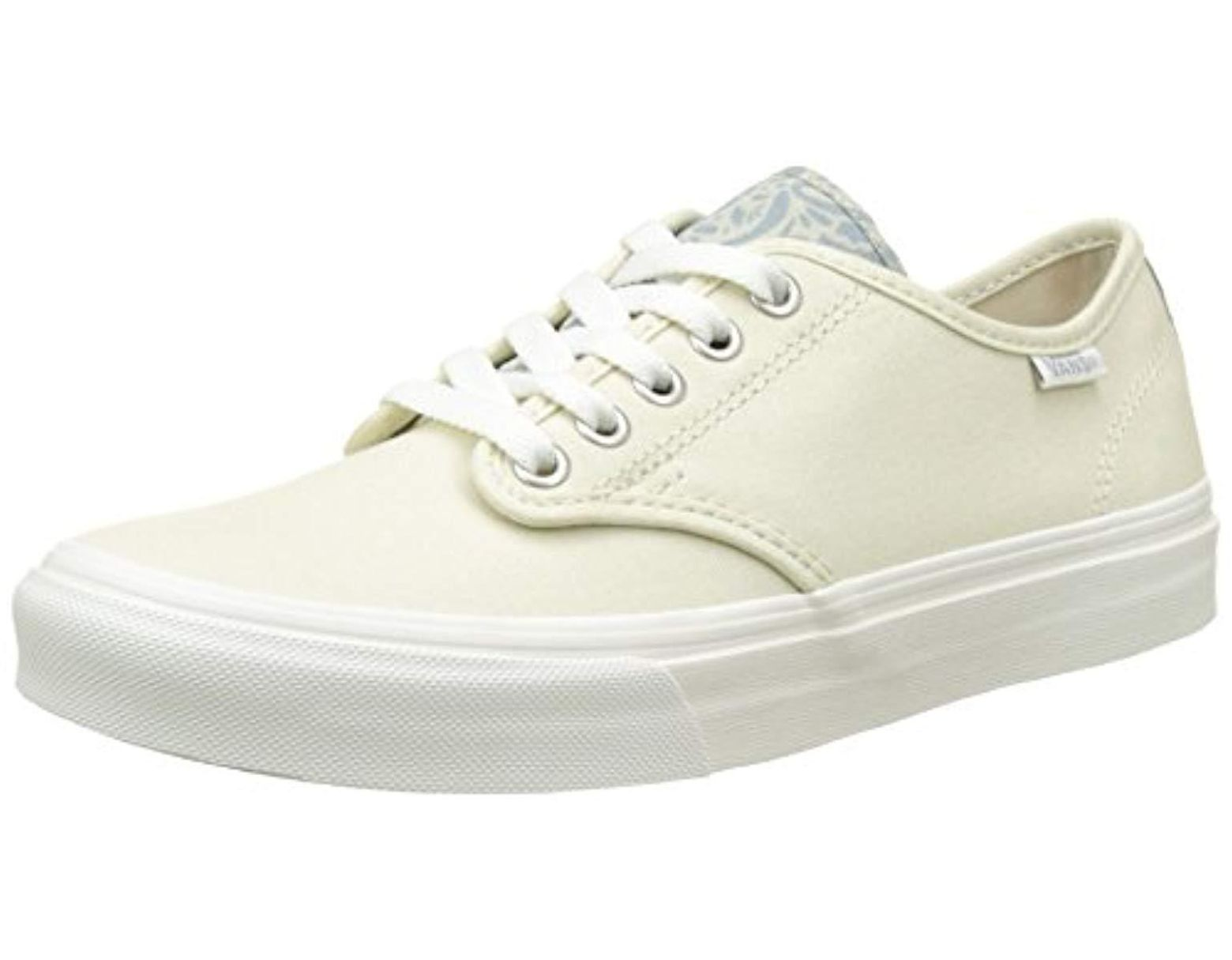 852a1635e4b0a Vans Wm Camden Stripe Low-top Sneakers in White - Save 22% - Lyst
