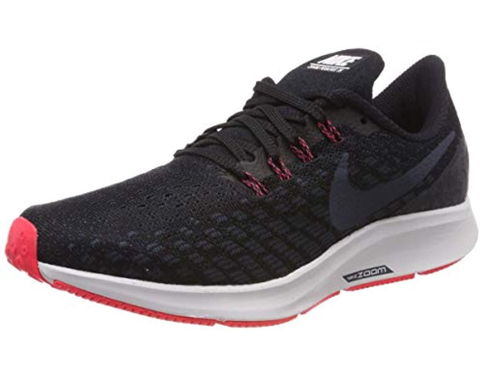 032e0f6d746d2 Men's Black Air Zoom Pegasus 35 Running Shoes