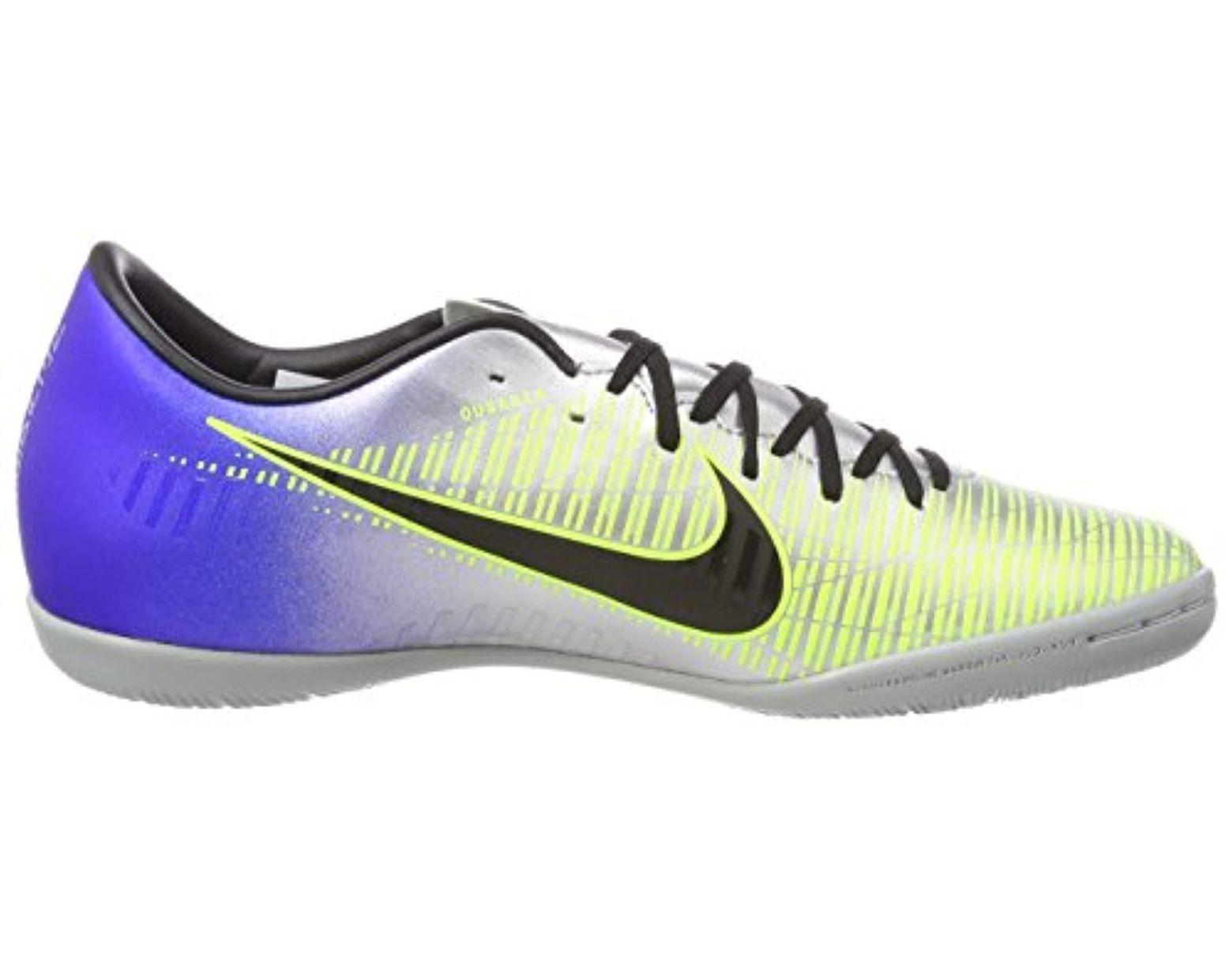 buy online 7fff0 ede39 Nike Mercurialx Victory Vi Neymar Ic Footbal Shoes in Blue ...