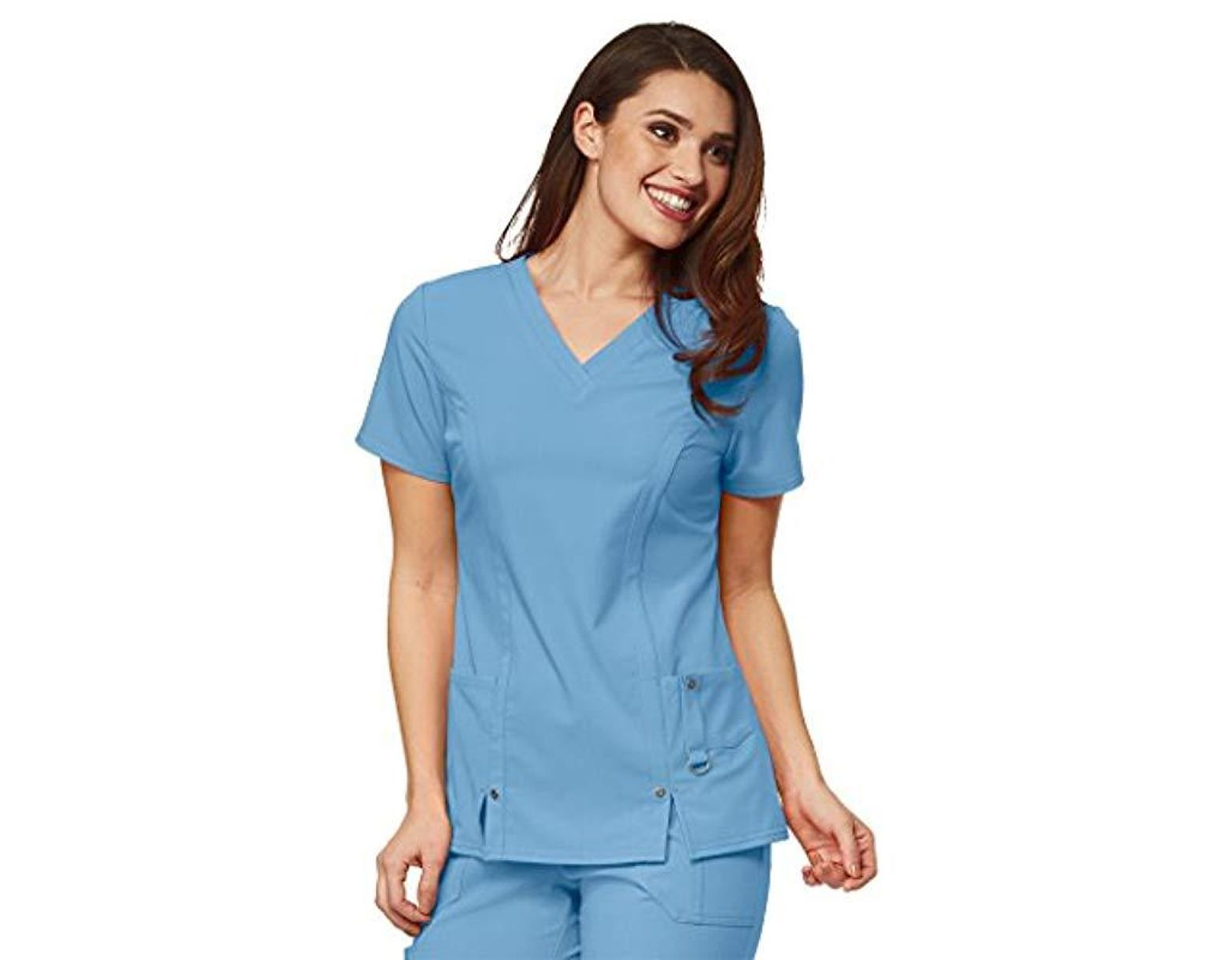 950e06a0eca54c Dickies Xtreme Stretch V-neck Scrubs Shirt in Blue - Save 26% - Lyst