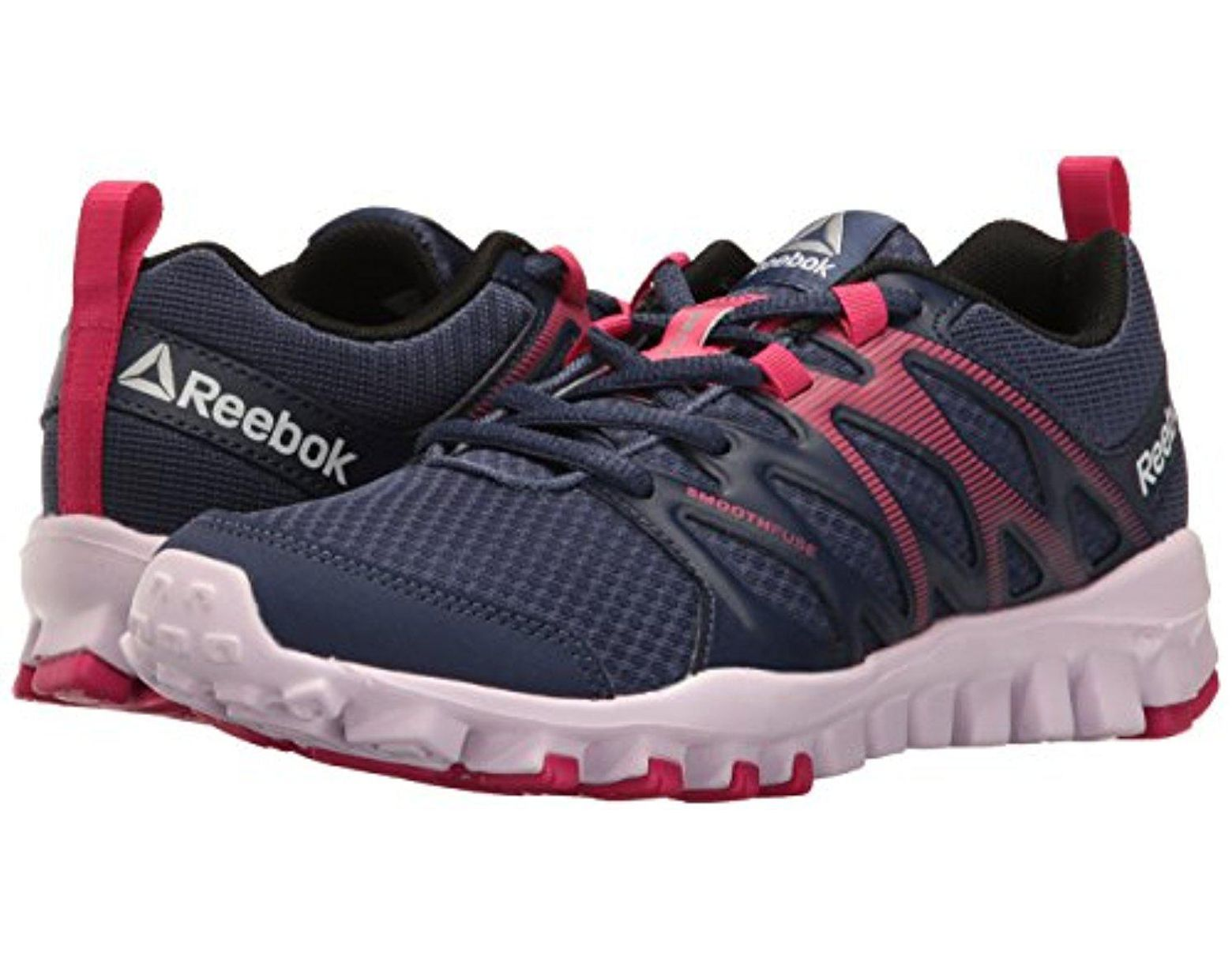 3ff04073bfaa Reebok Realflex Train 4.0 Cross-trainer Shoe in Blue - Save 20% - Lyst