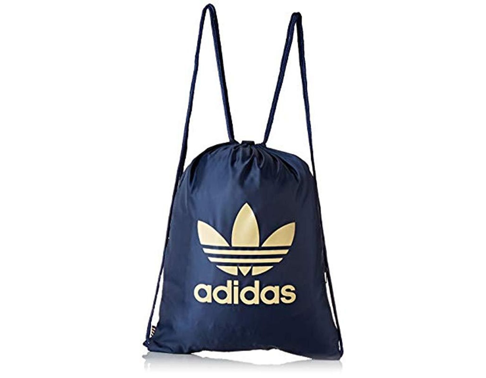 adidas Unisex Gymsack Trefoil Backpack in Blue for Men - Lyst
