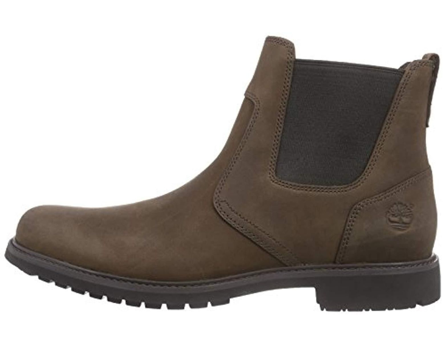 timberland men's earthkeepers stormbucks chelsea ankle boots