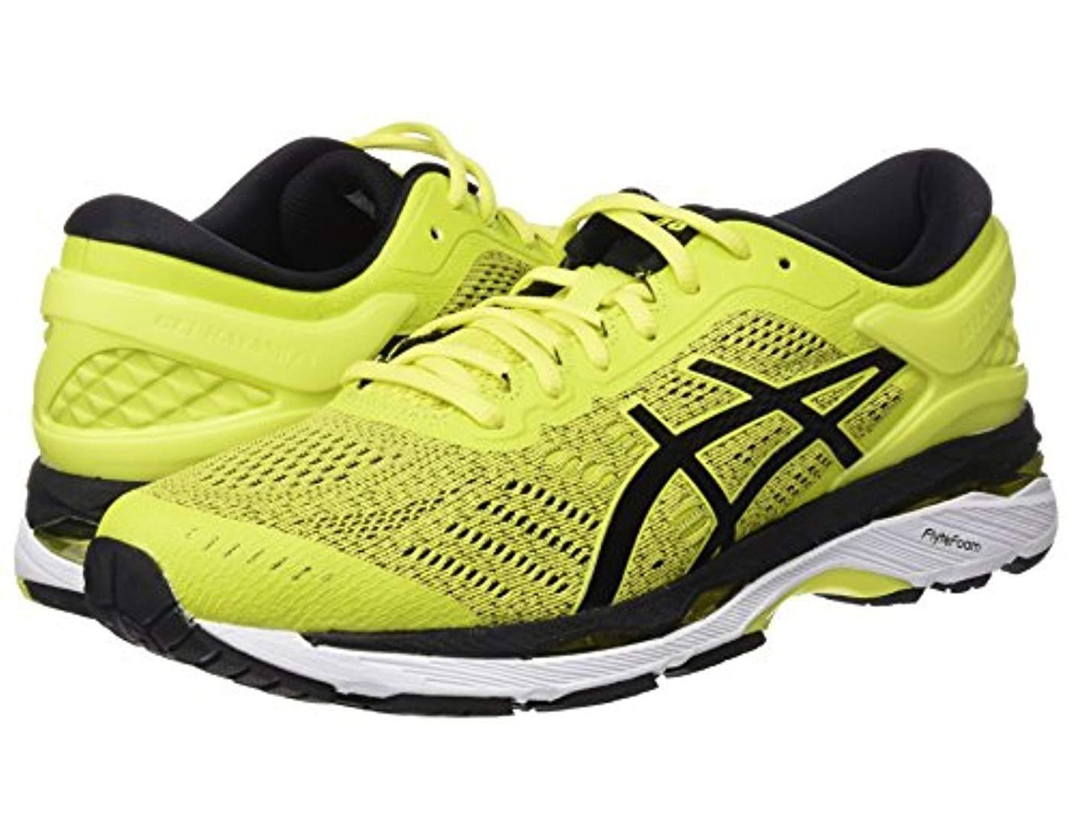 36dfce25d553 Asics Gel-kayano 24 Running Shoes in Yellow for Men - Save 22% - Lyst