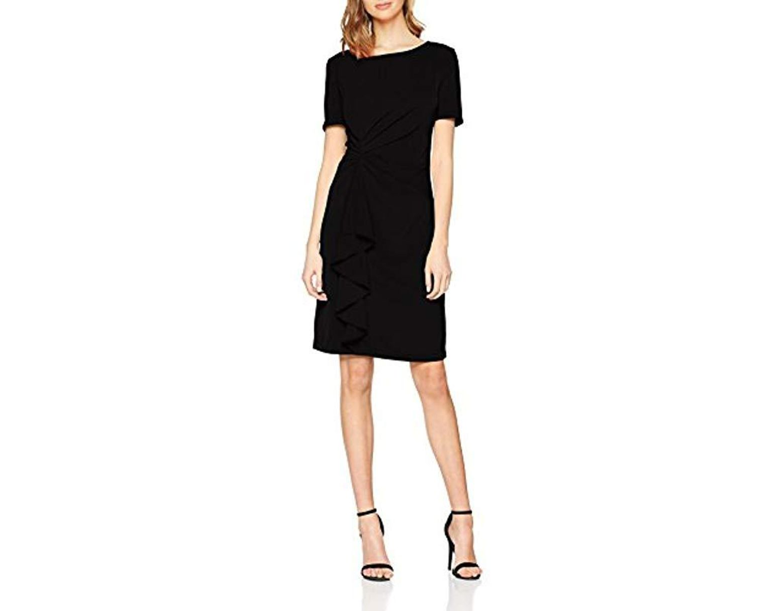 32e7f360606df Vero Moda Ladies Dress Round Neck With A Small Arm And Ruffles in ...