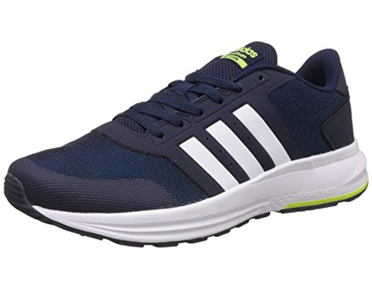 100% quality special section buy online adidas Cloudfoam Saturn Trainers in Blue for Men - Lyst