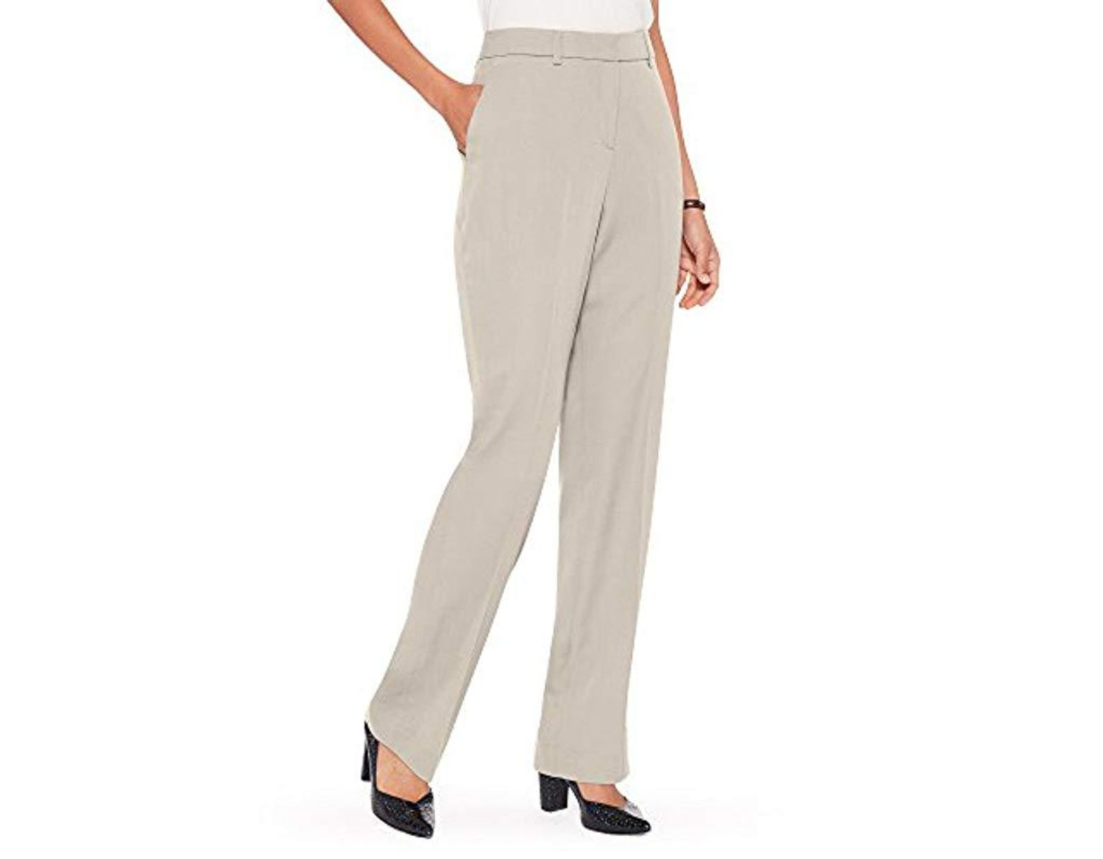 Pendleton Womens Petite Size Reed Knit Pant
