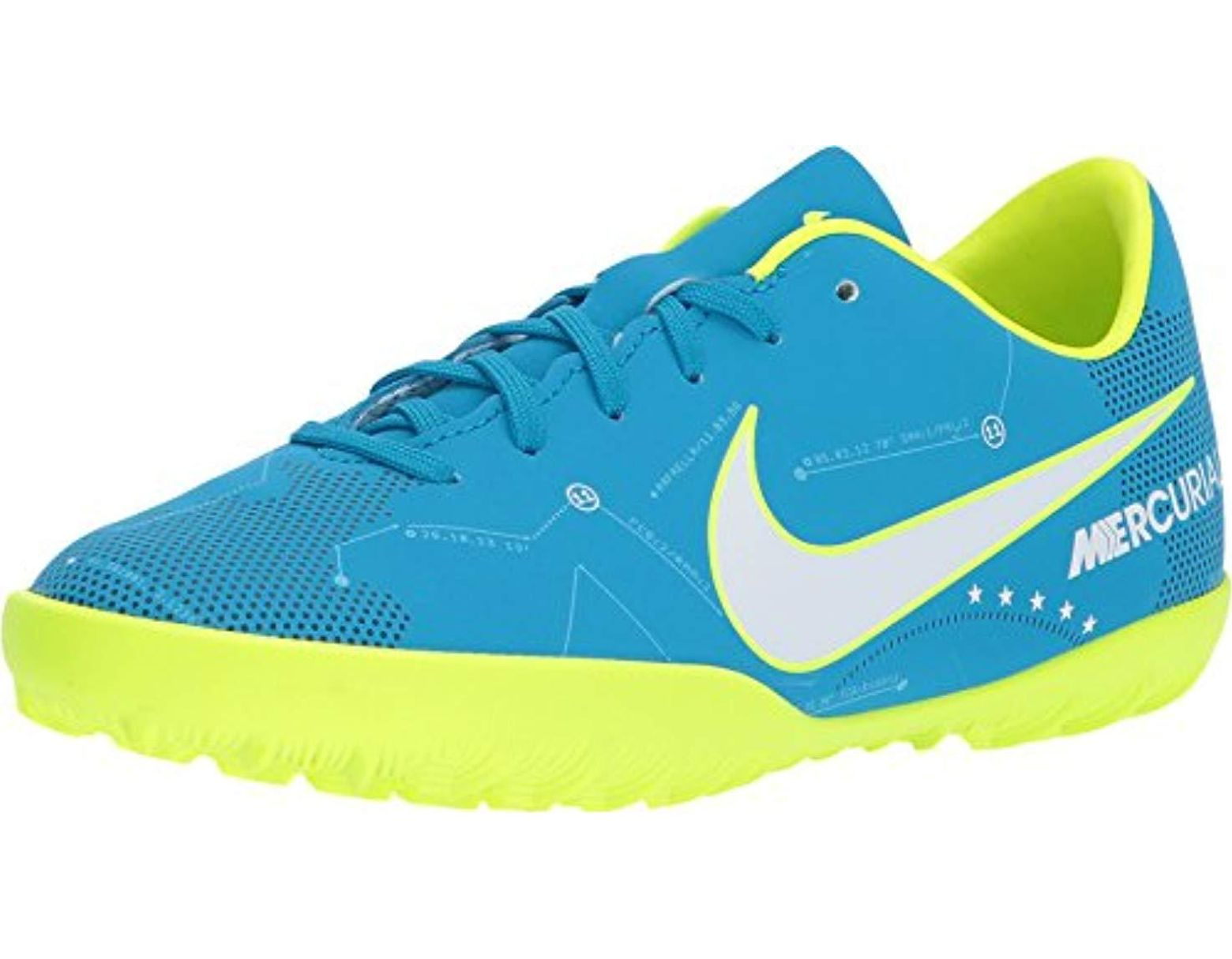 0bb3195d82436 Men's Mercurialx Victory 6 Neymar Jr Turf Soccer Shoes-blue Size: 3y