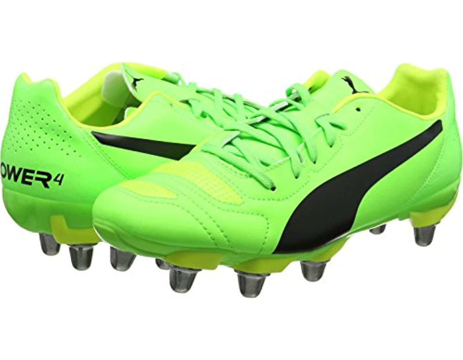 3ea8d63cdec35 Men's Green Evopower 4.2 Rugby H8 Boots