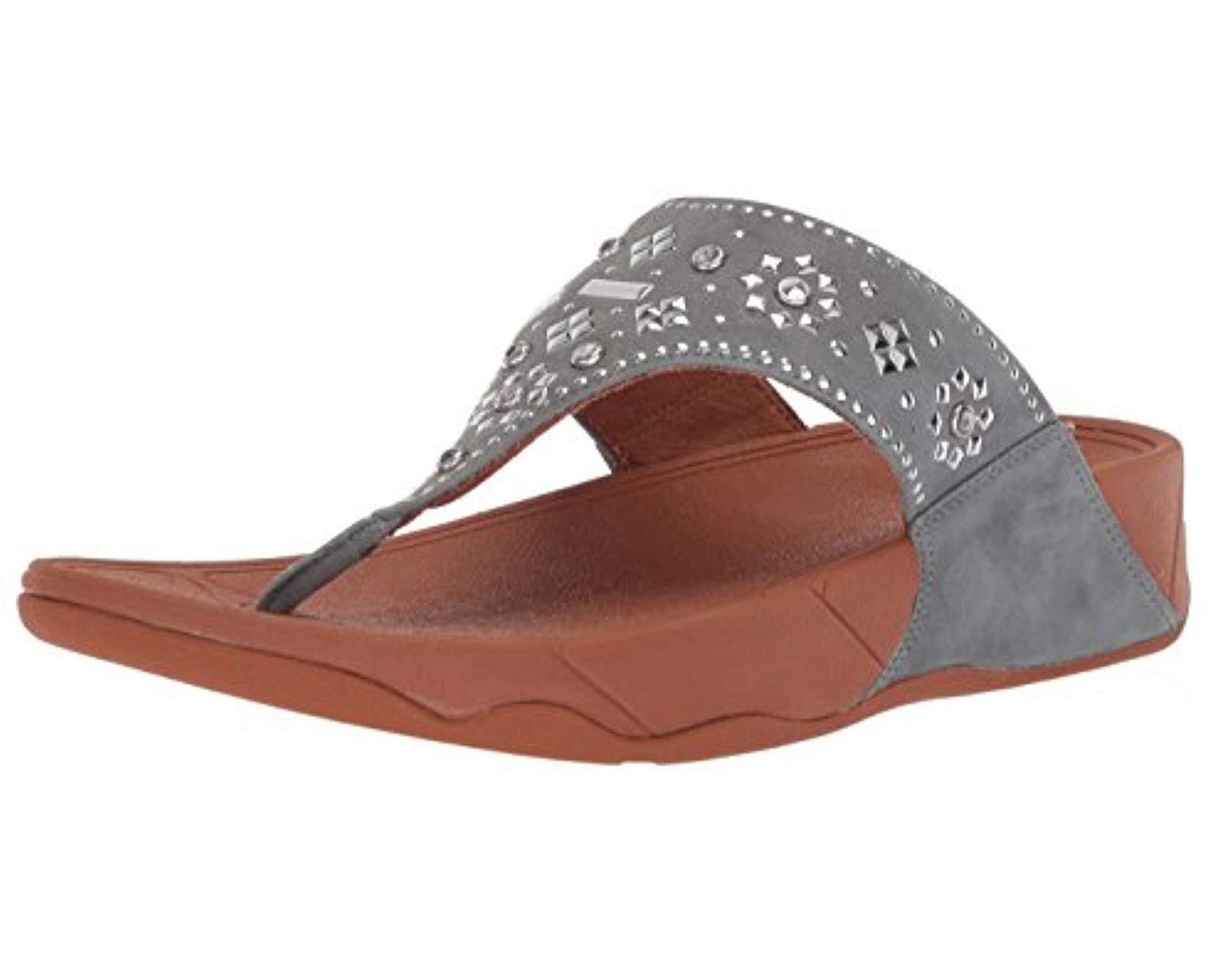 Toe Thong Stud Sandals Women's Aztek Lulu Suede 8wPnOk0X