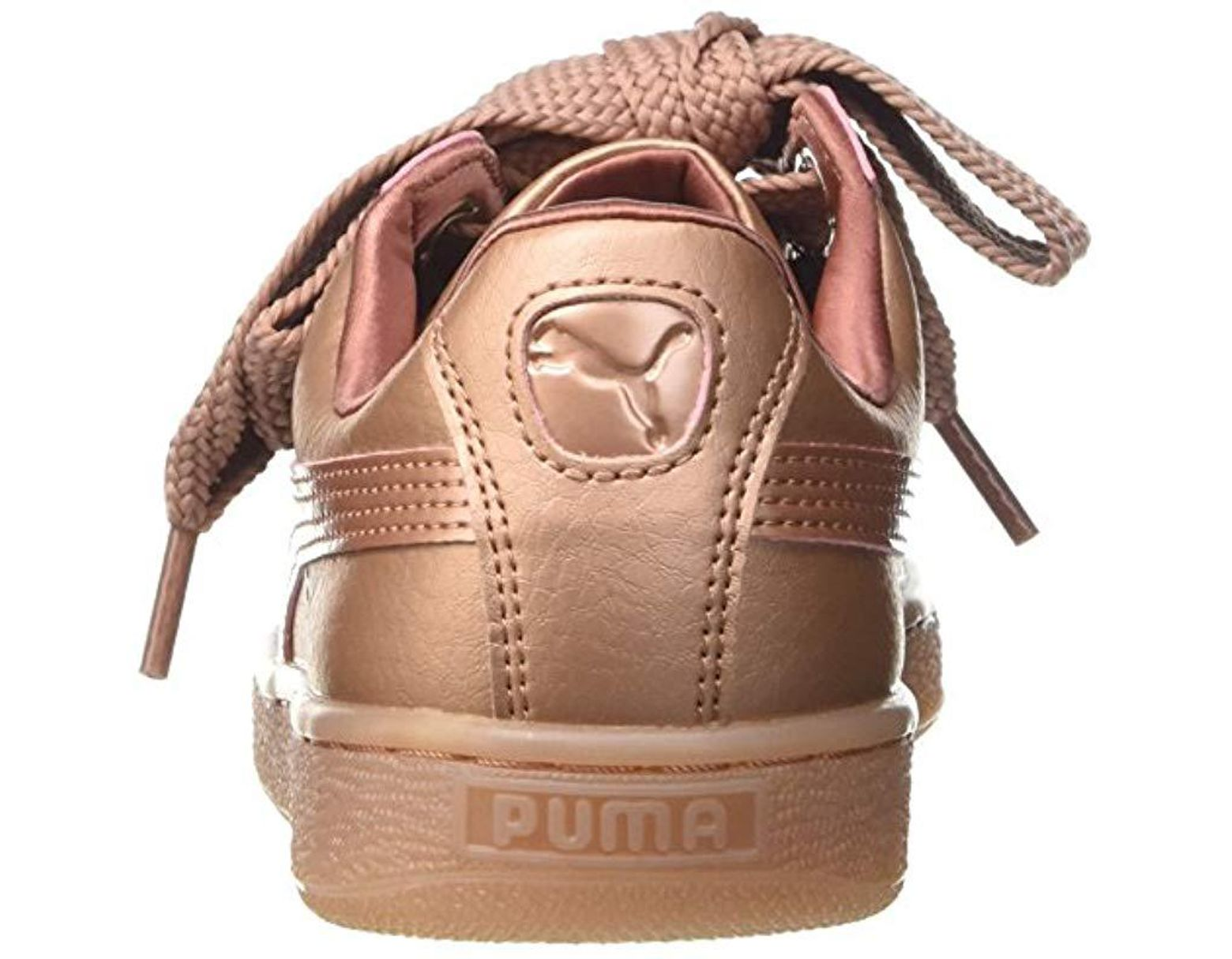 Trainers Pink 23Lyst Basket Heart In Puma Save Copper dxQhtrsC