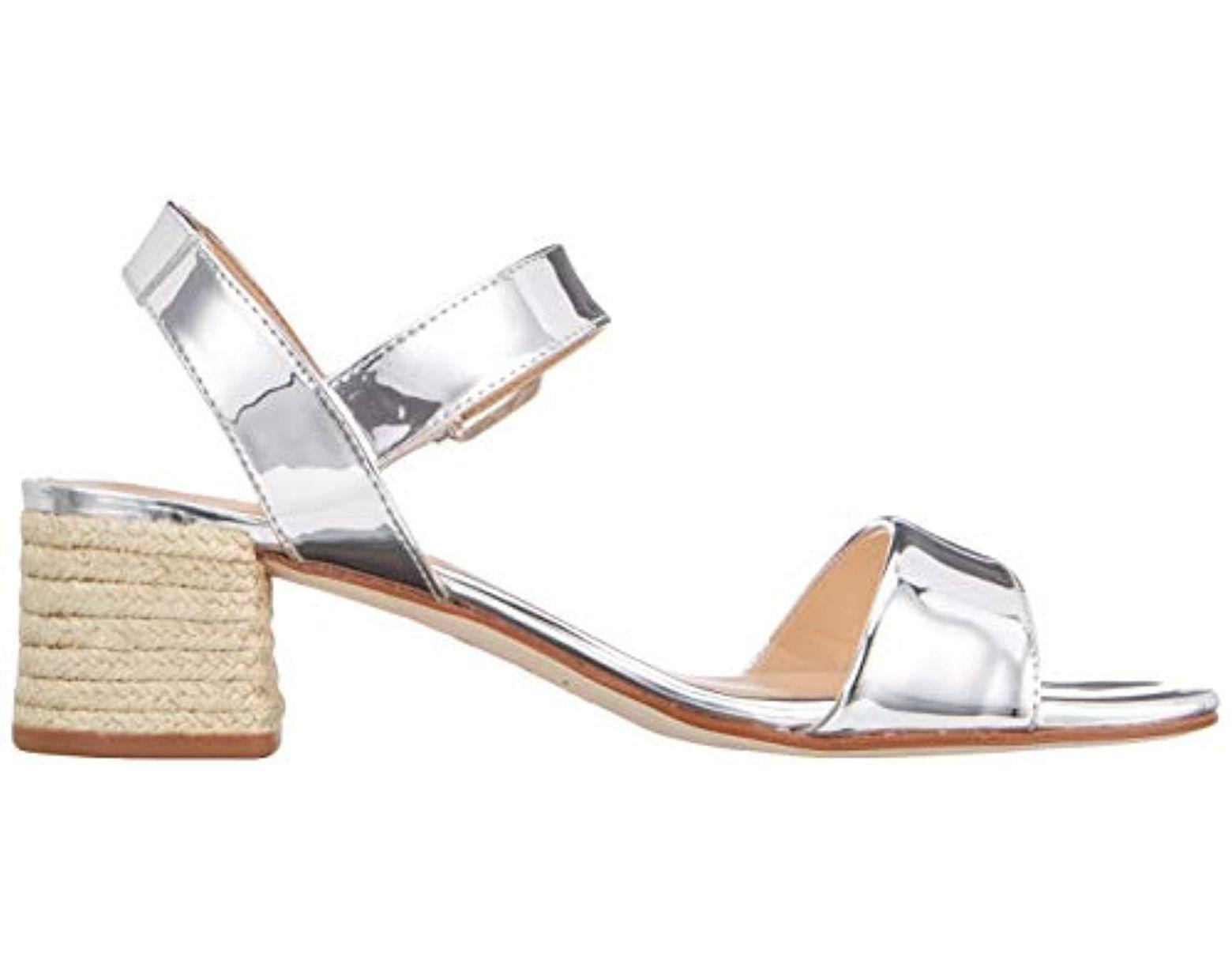 Sandals Lyst Unisa sp Ankle 's Kanela Strap Metallic In zqSUMpV
