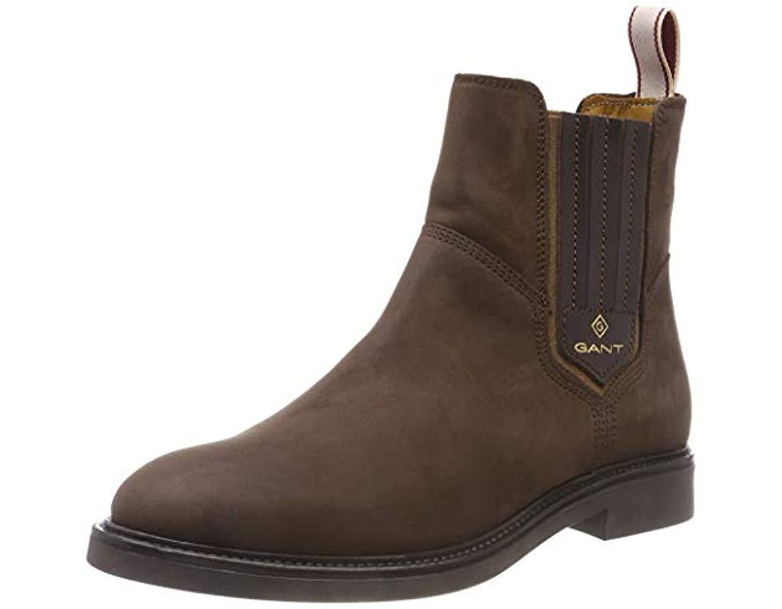 45c44b414acfb GANT Ashley Chelsea Boots in Brown - Lyst