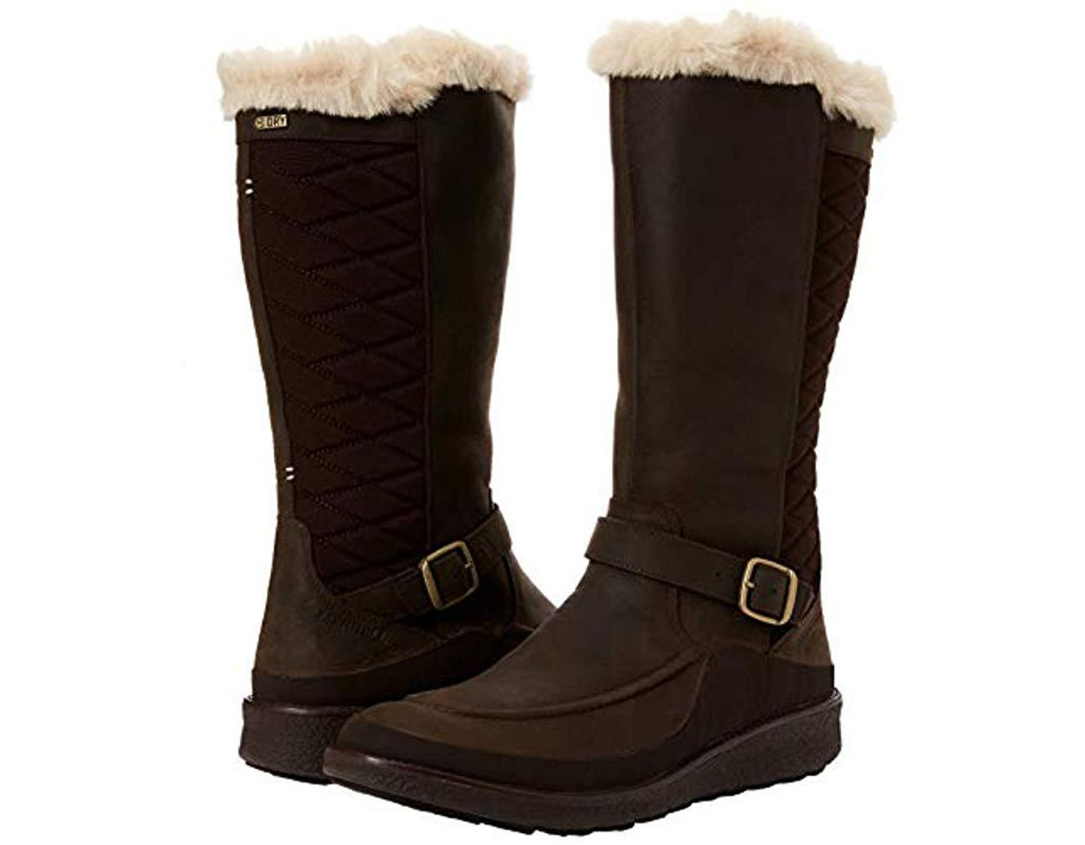 8a4005bf Women's Brown Tremblant Ezra Tall Polar Waterproof High Boots