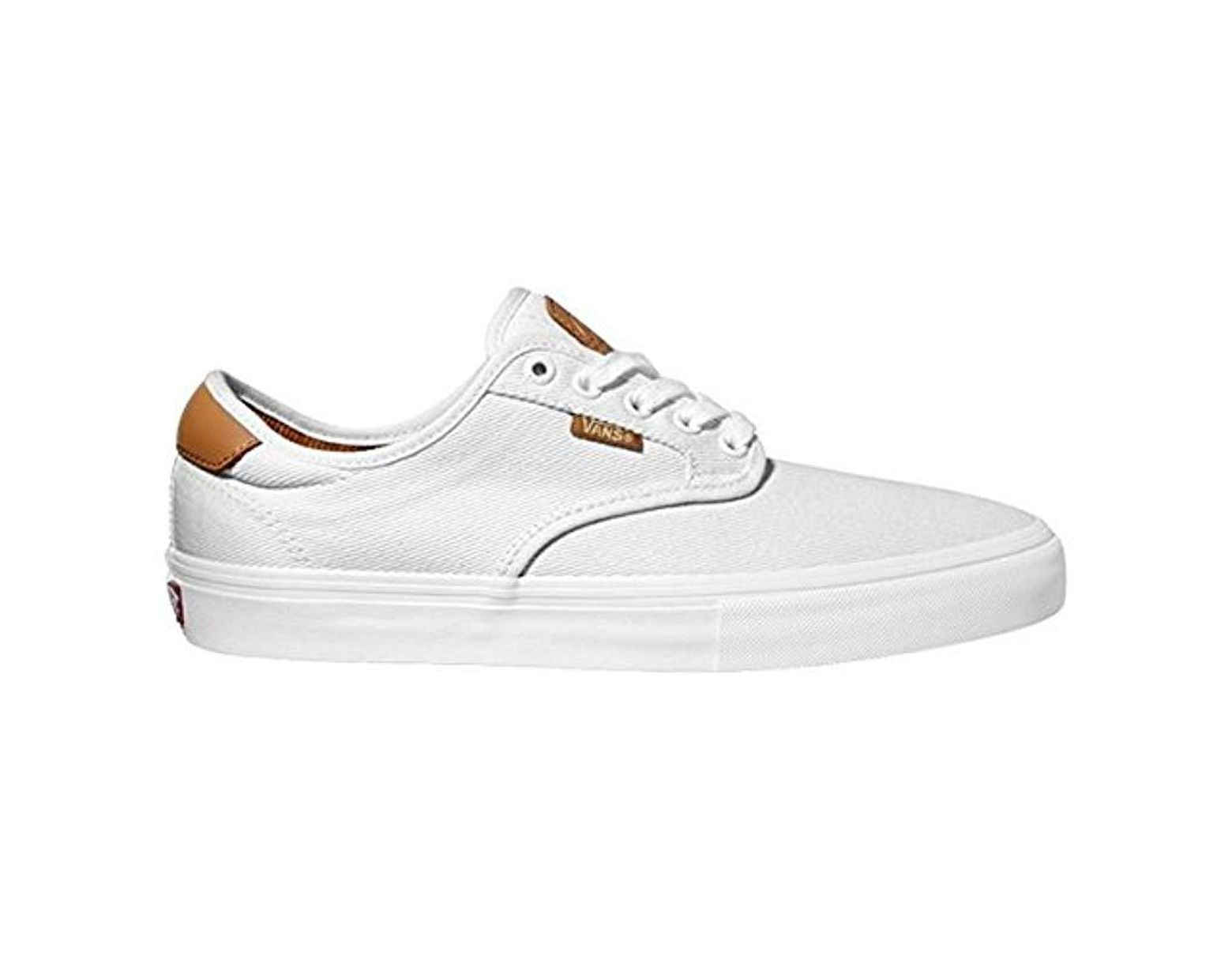 Vans Chima Ferguson Pro Skate Shoes Whitewhite Uk 12 in