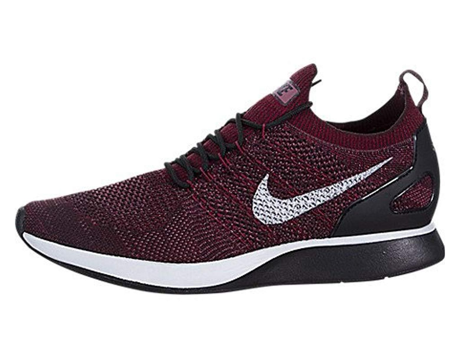 Nike Air Zoom Mariah Flyknit Racer Womens Aa0521 002 Grey Running Shoes Size 10