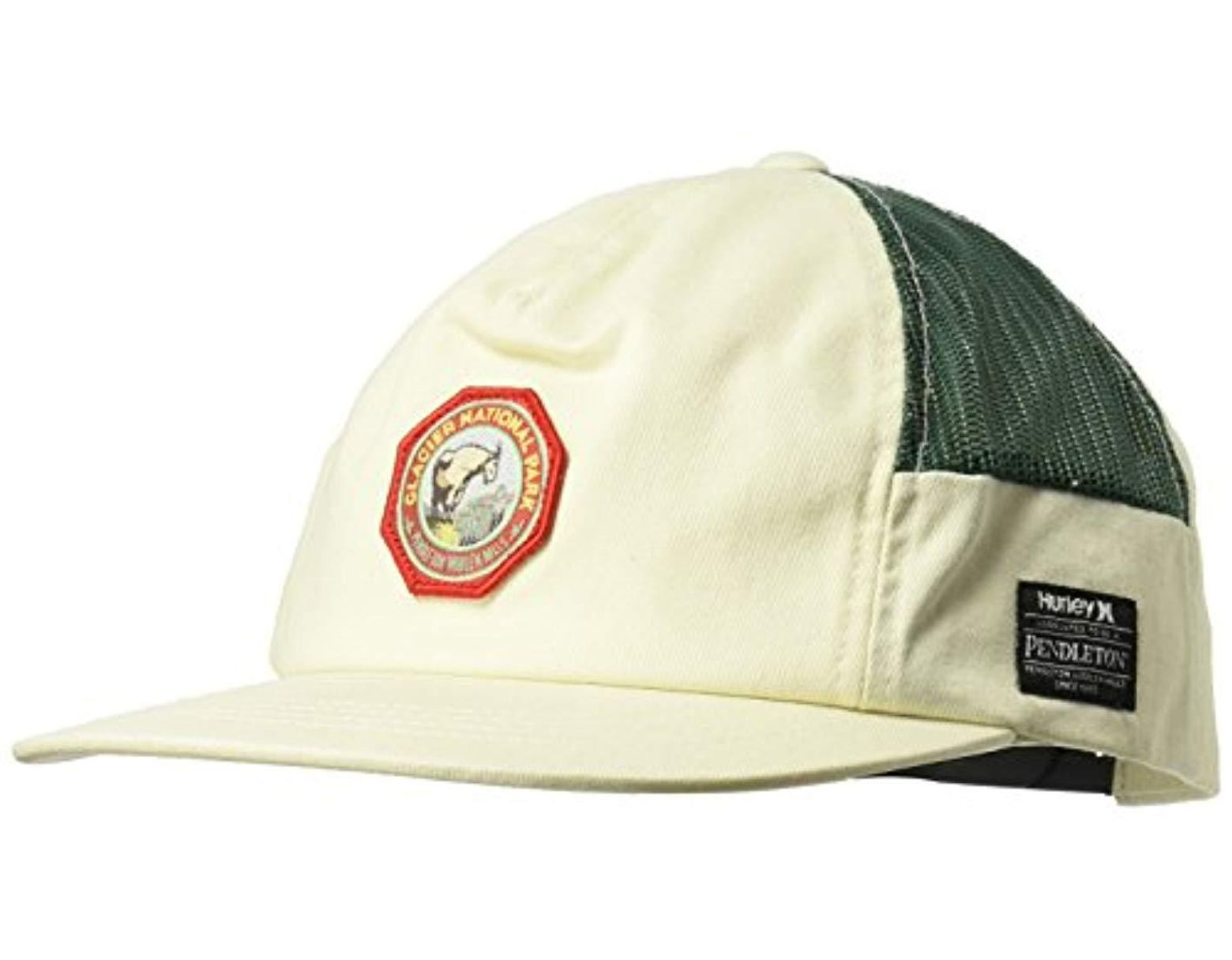 4c6d5a943558e Hurley Pendleton National Park Collection Cap for Men - Save 19% - Lyst