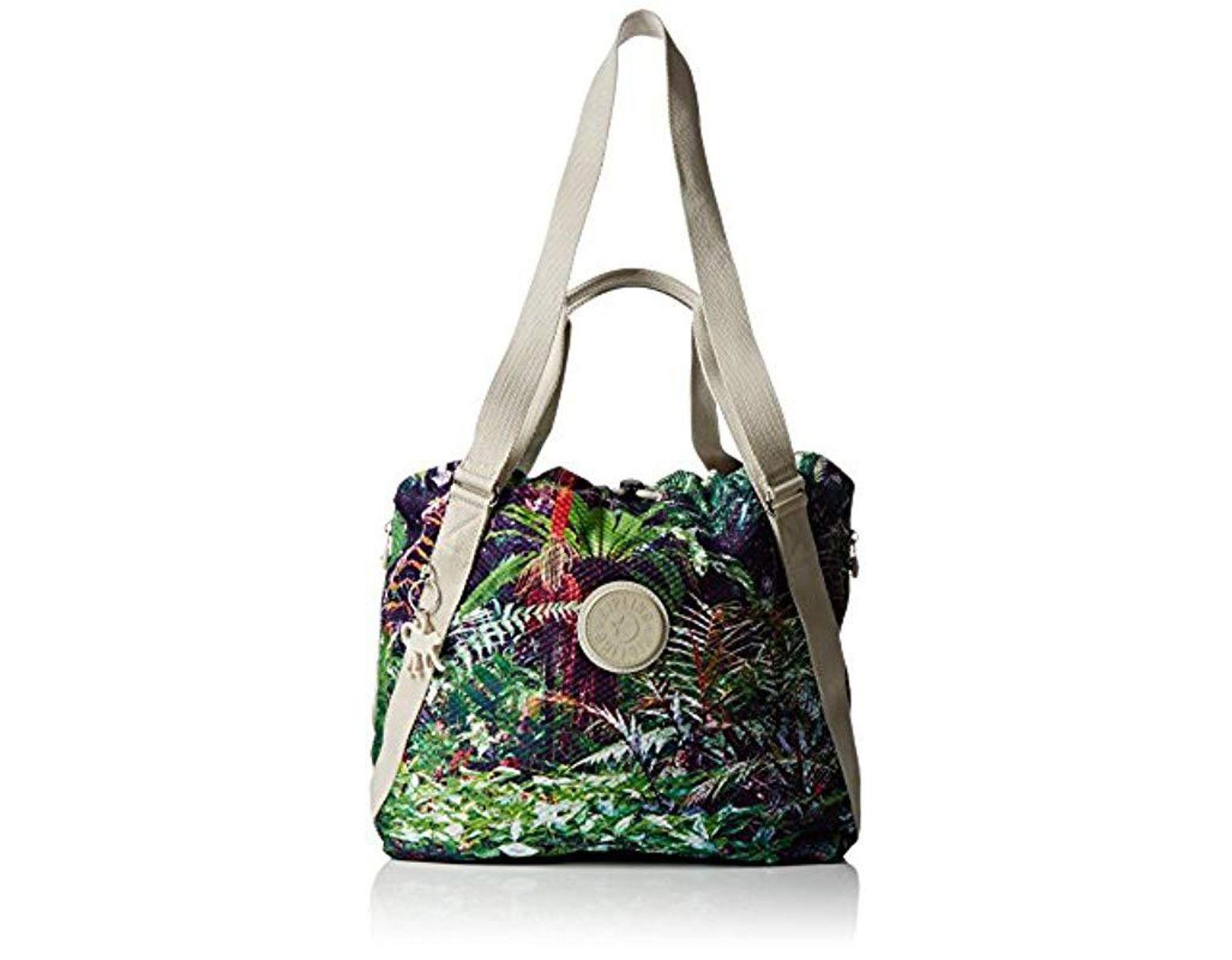 44f9450bf305 Kipling Canvas Lazy Daisy Backpack - Lyst