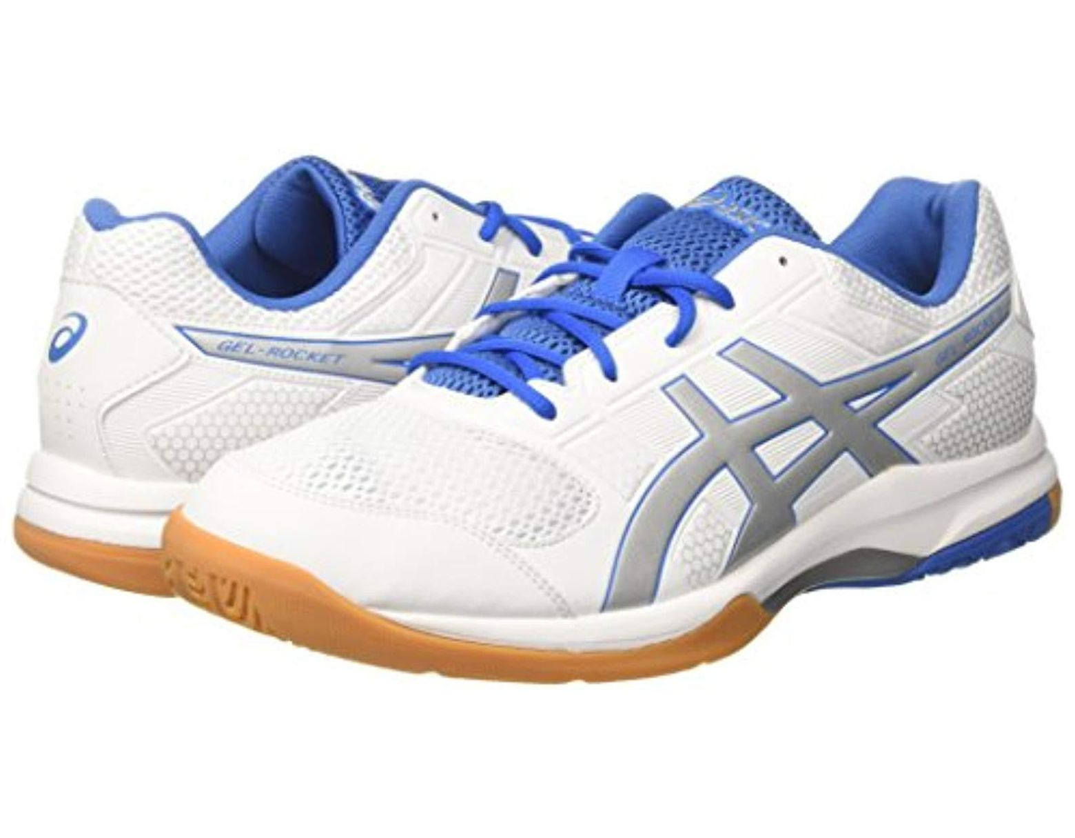 062397b713 Asics Gel-rocket 8 Multisport Indoor Shoes in White for Men - Save 26% -  Lyst