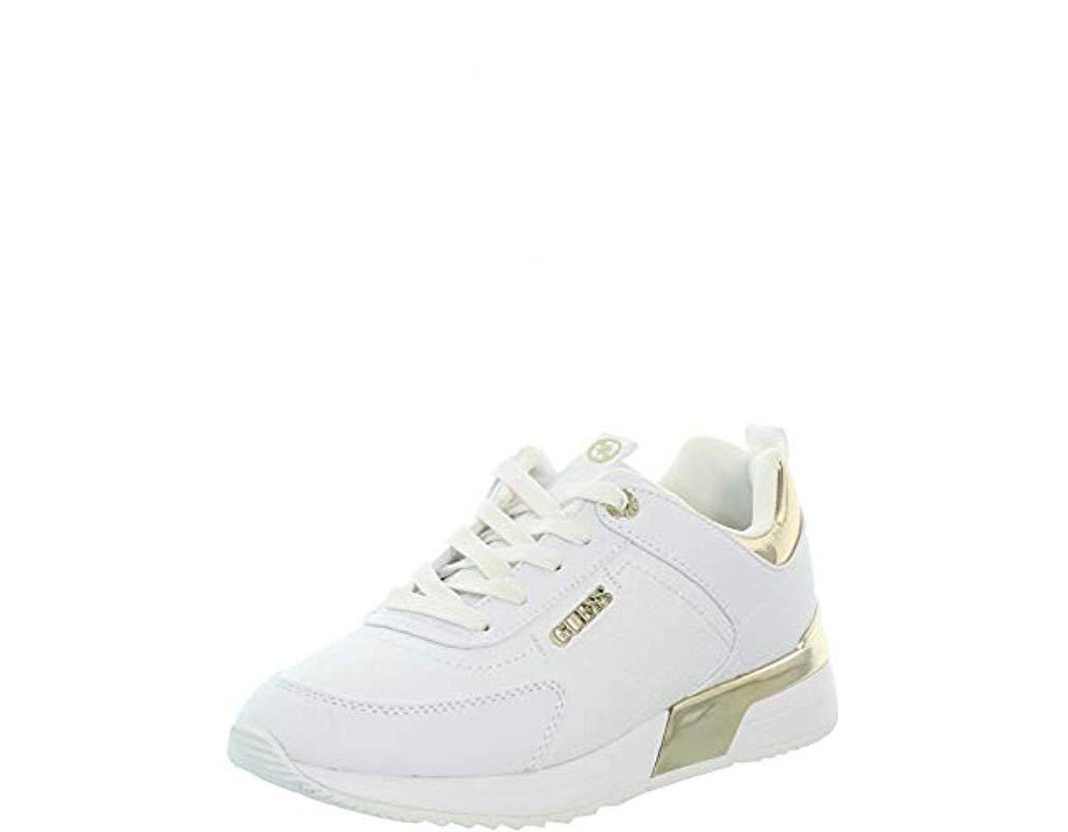 White GuessMarlyn Fal12Sneakers Lyst Fl5mrl In 4LR5qjA3
