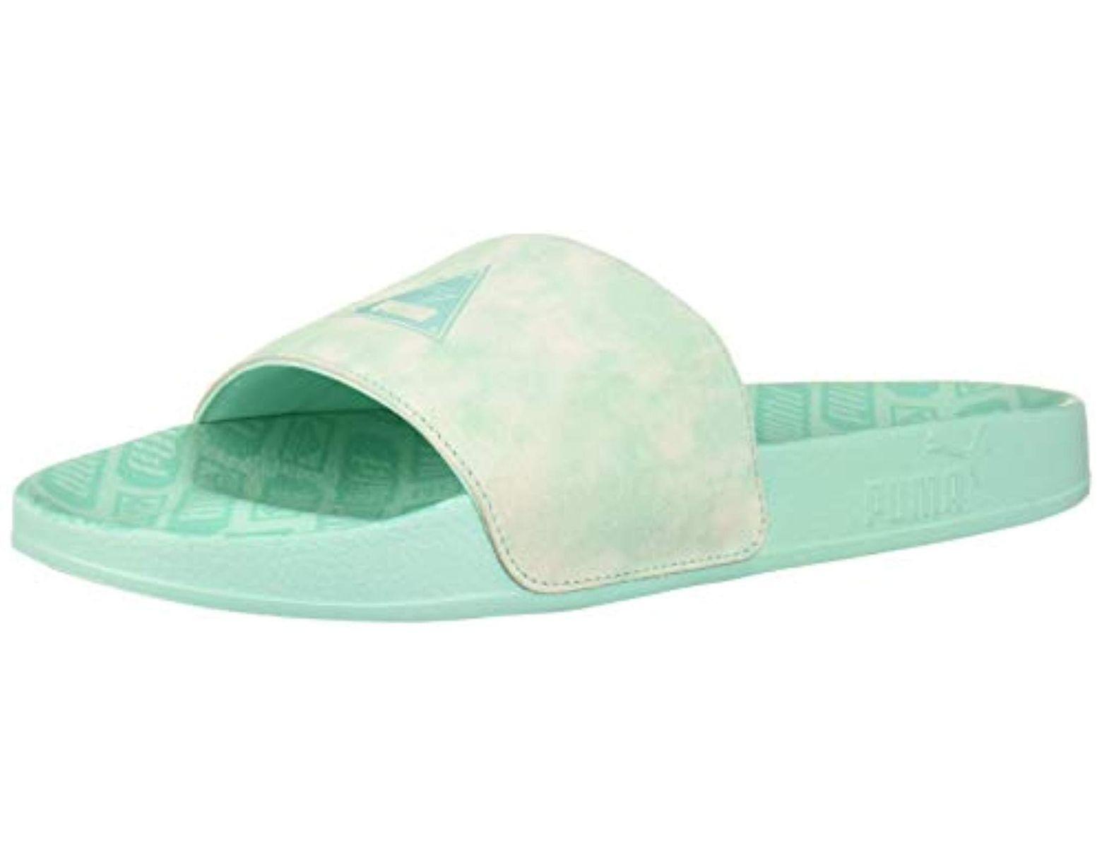58d391e38d Men's Blue Leadcat Diamond Supply Slide Sandal